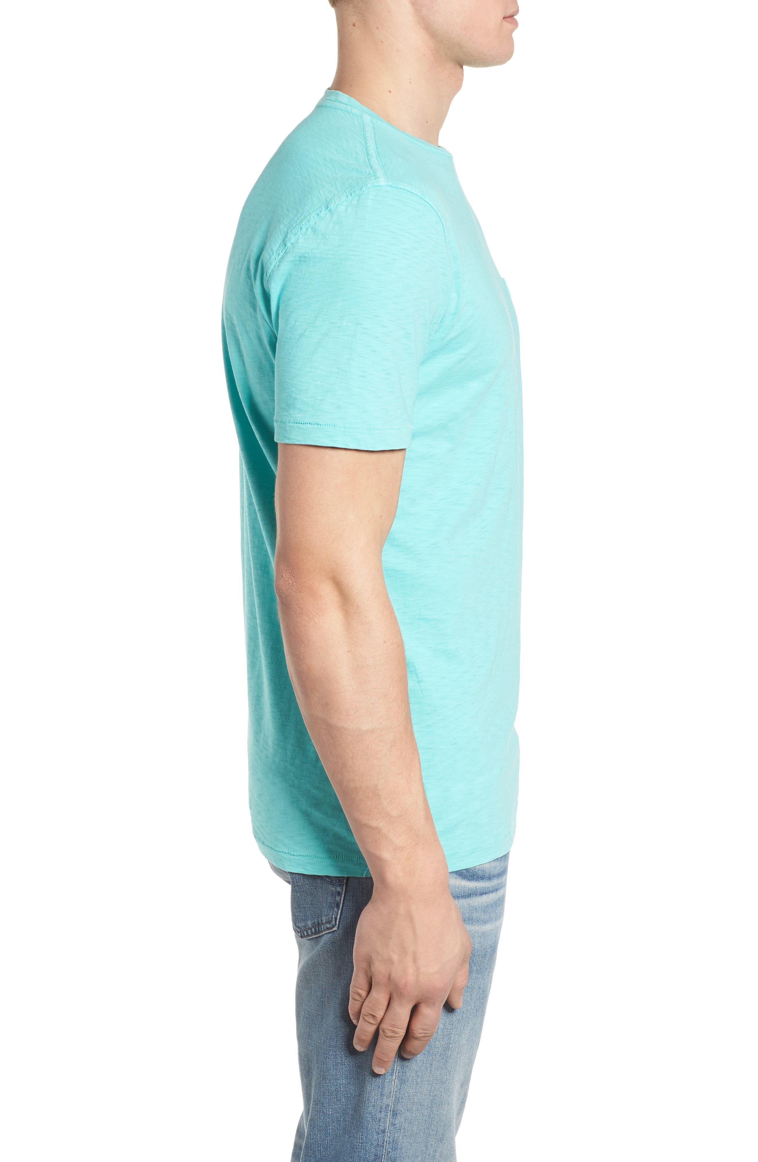 Slub Knit T-Shirt,                             Alternate thumbnail 3, color,                             100