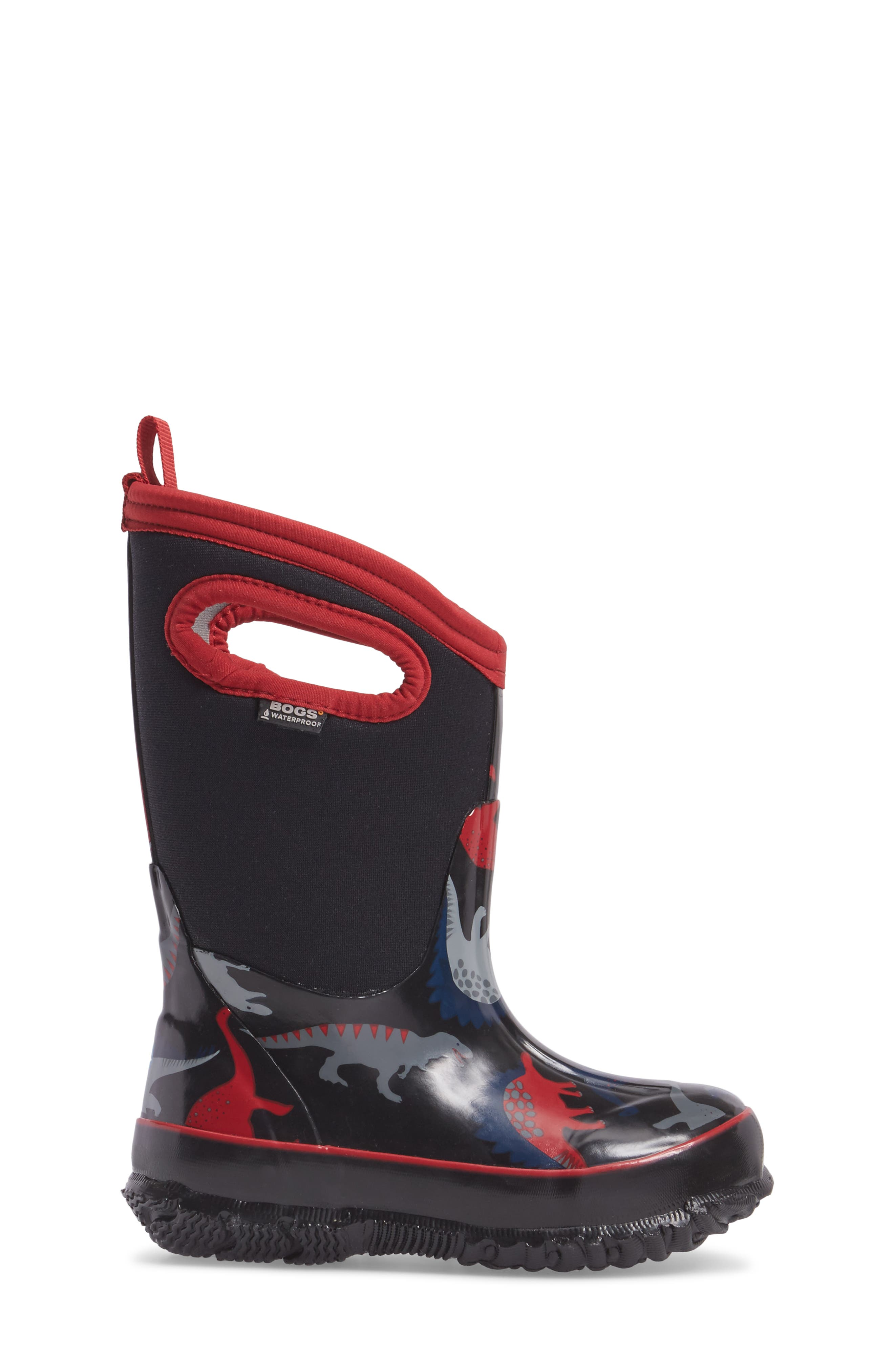 Classic Dino Insulated Waterproof Boot,                             Alternate thumbnail 6, color,
