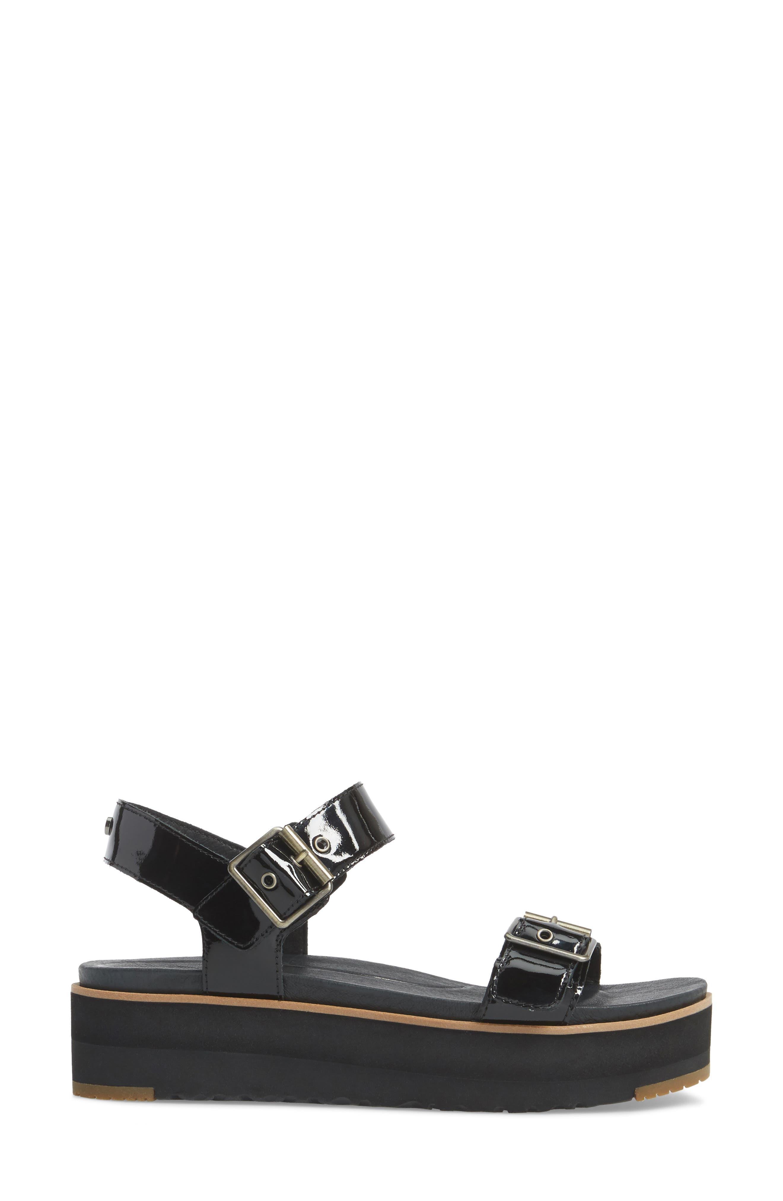 Angie Platform Sandal,                             Alternate thumbnail 3, color,                             001