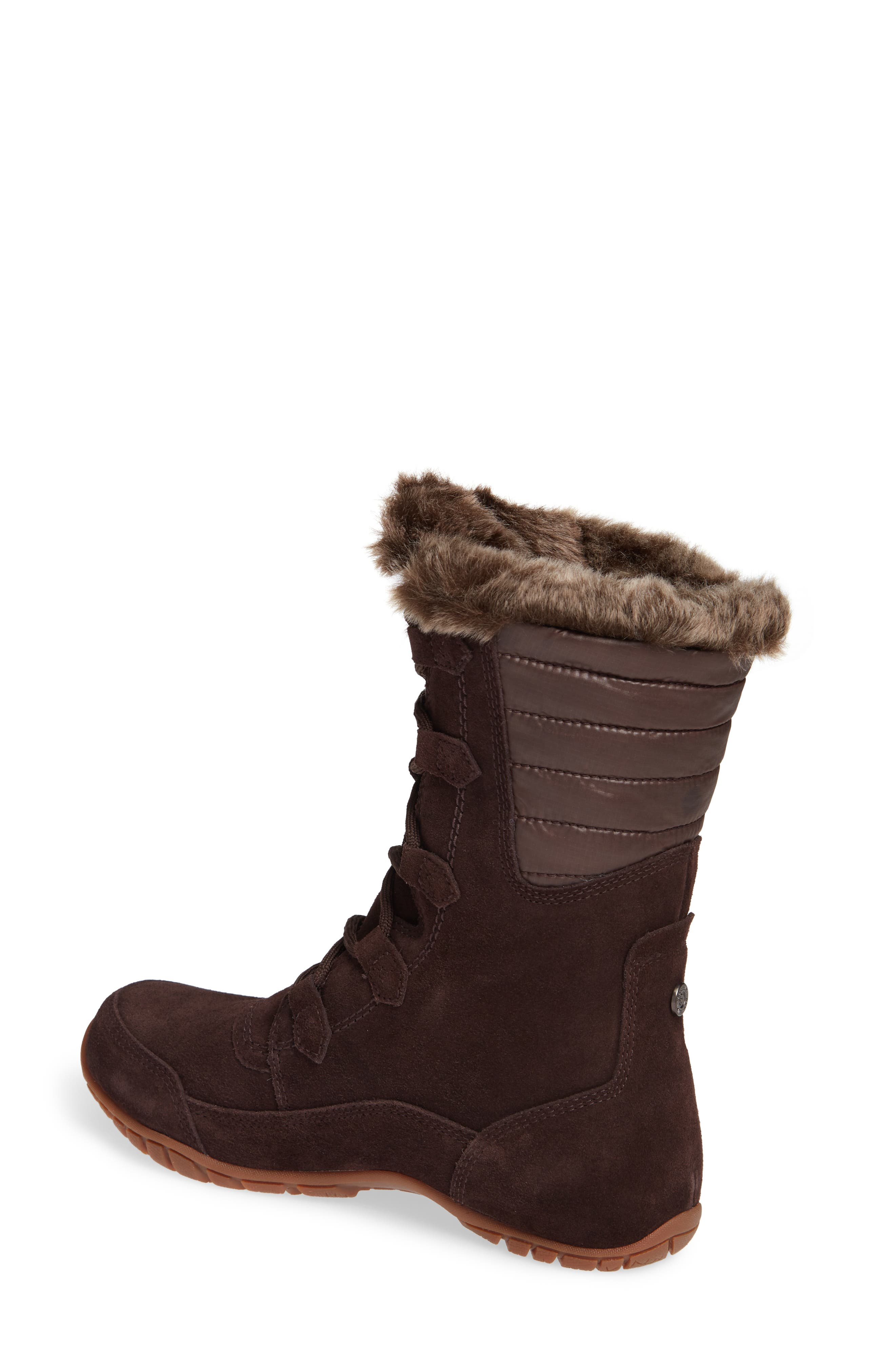 Nuptse Purna II Waterproof PrimaLoft<sup>®</sup> Silver Eco Insulated Winter Boot,                             Alternate thumbnail 2, color,                             201