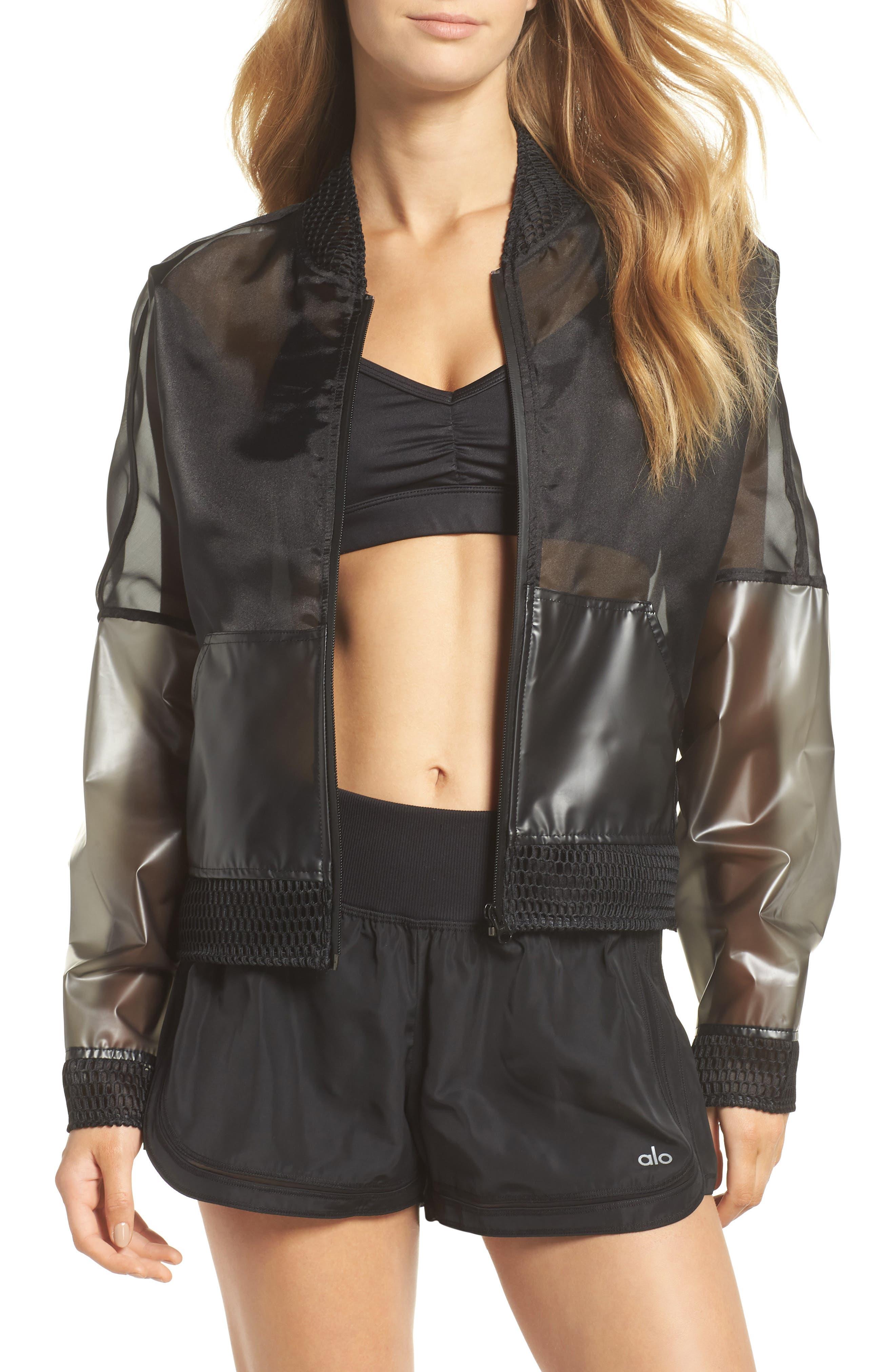 ALO Translucent Jacket, Main, color, 011