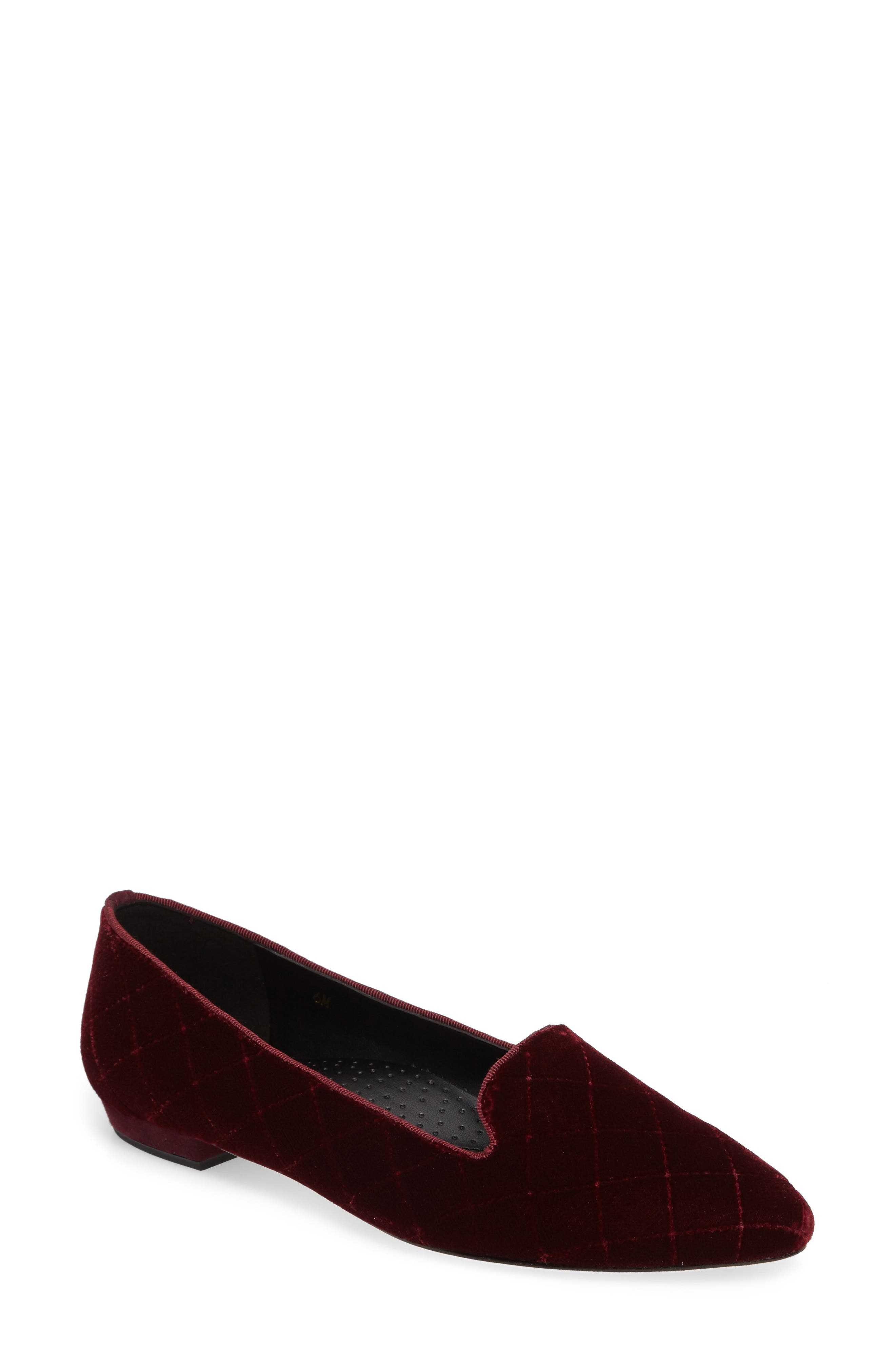 Gannie Diamond Pattern Loafer,                             Main thumbnail 3, color,