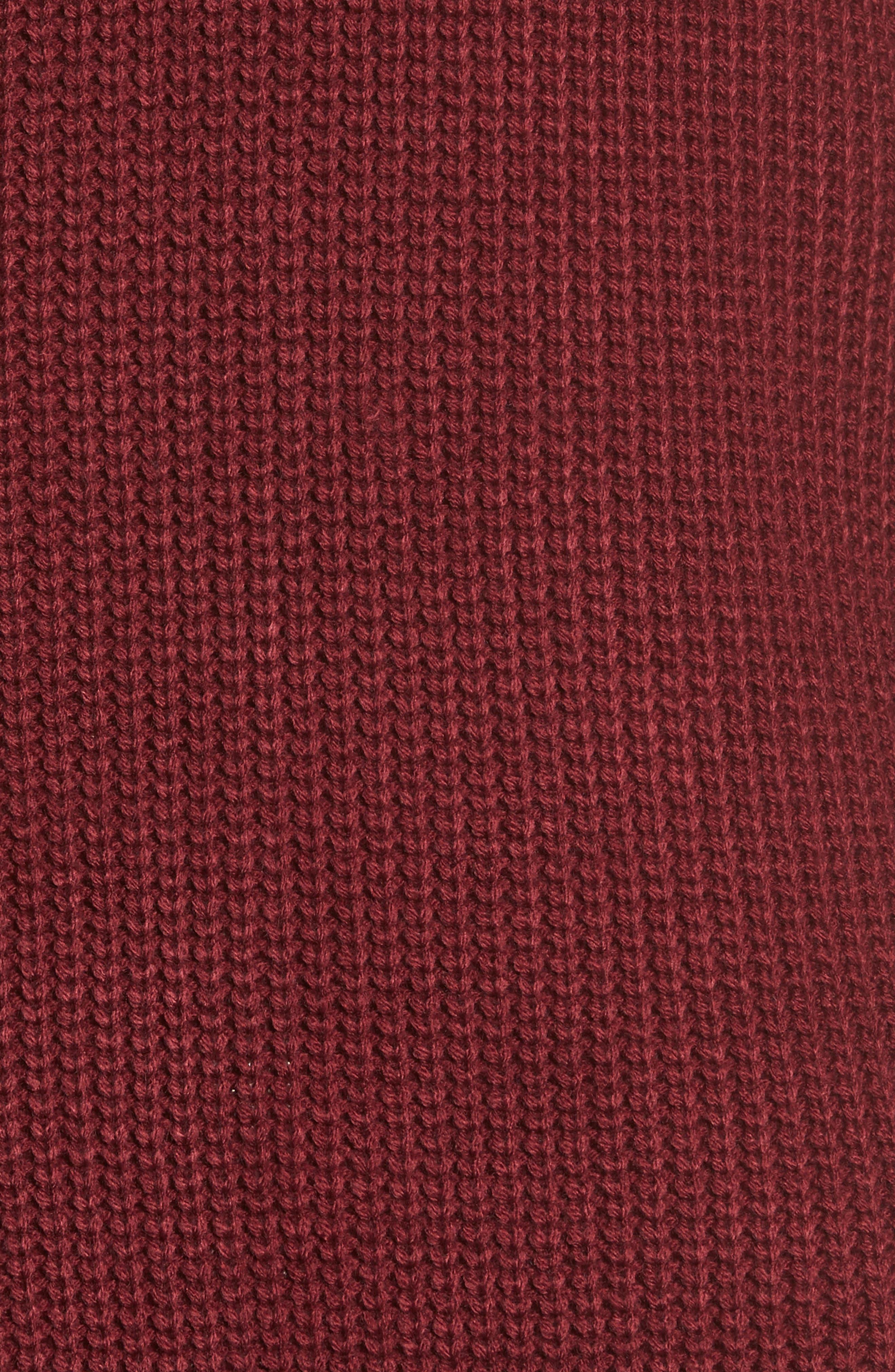 Foldover Off the Shoulder Sweater Dress,                             Alternate thumbnail 20, color,