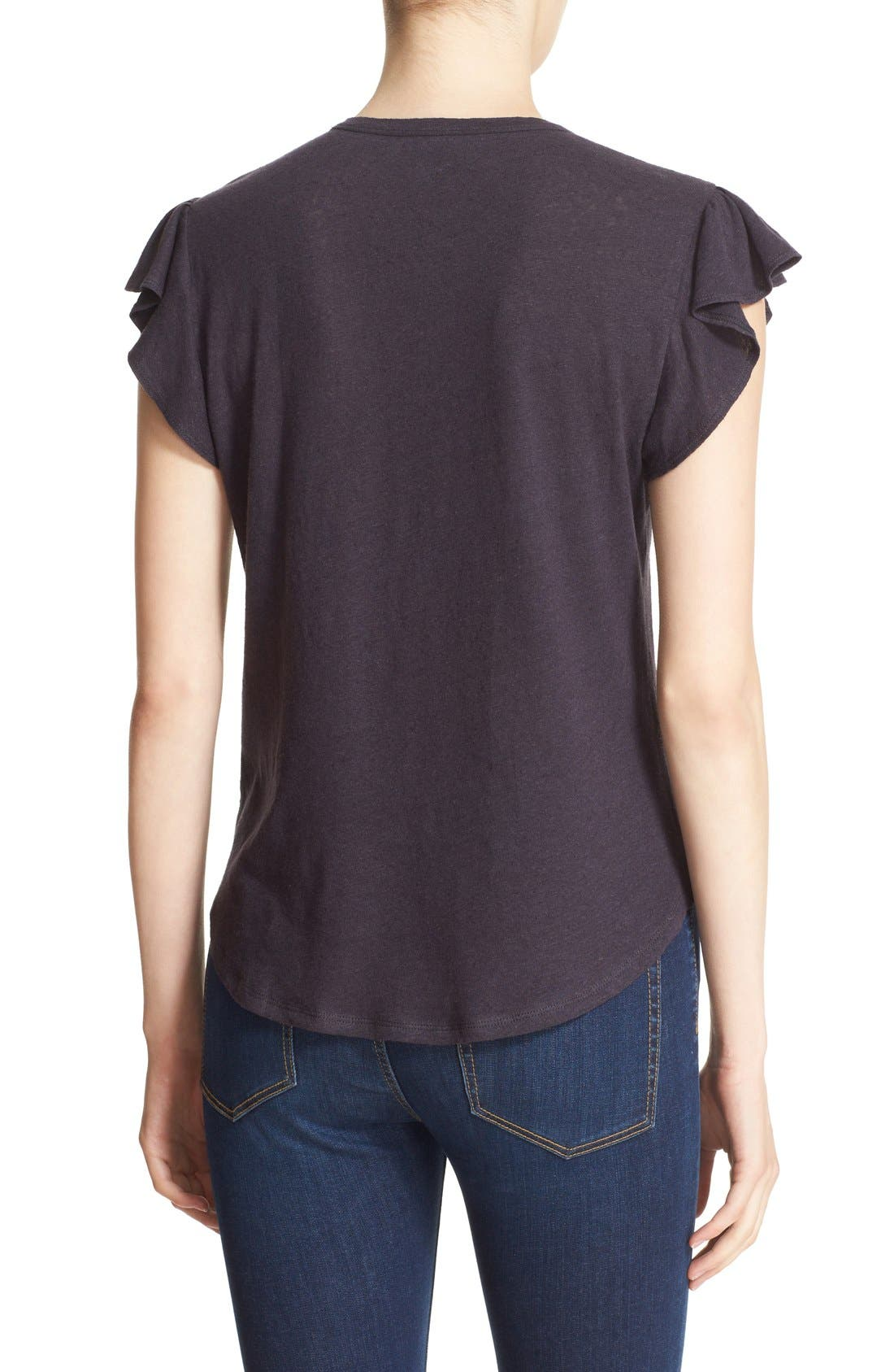 Washed Texture Jersey Tee,                             Alternate thumbnail 45, color,