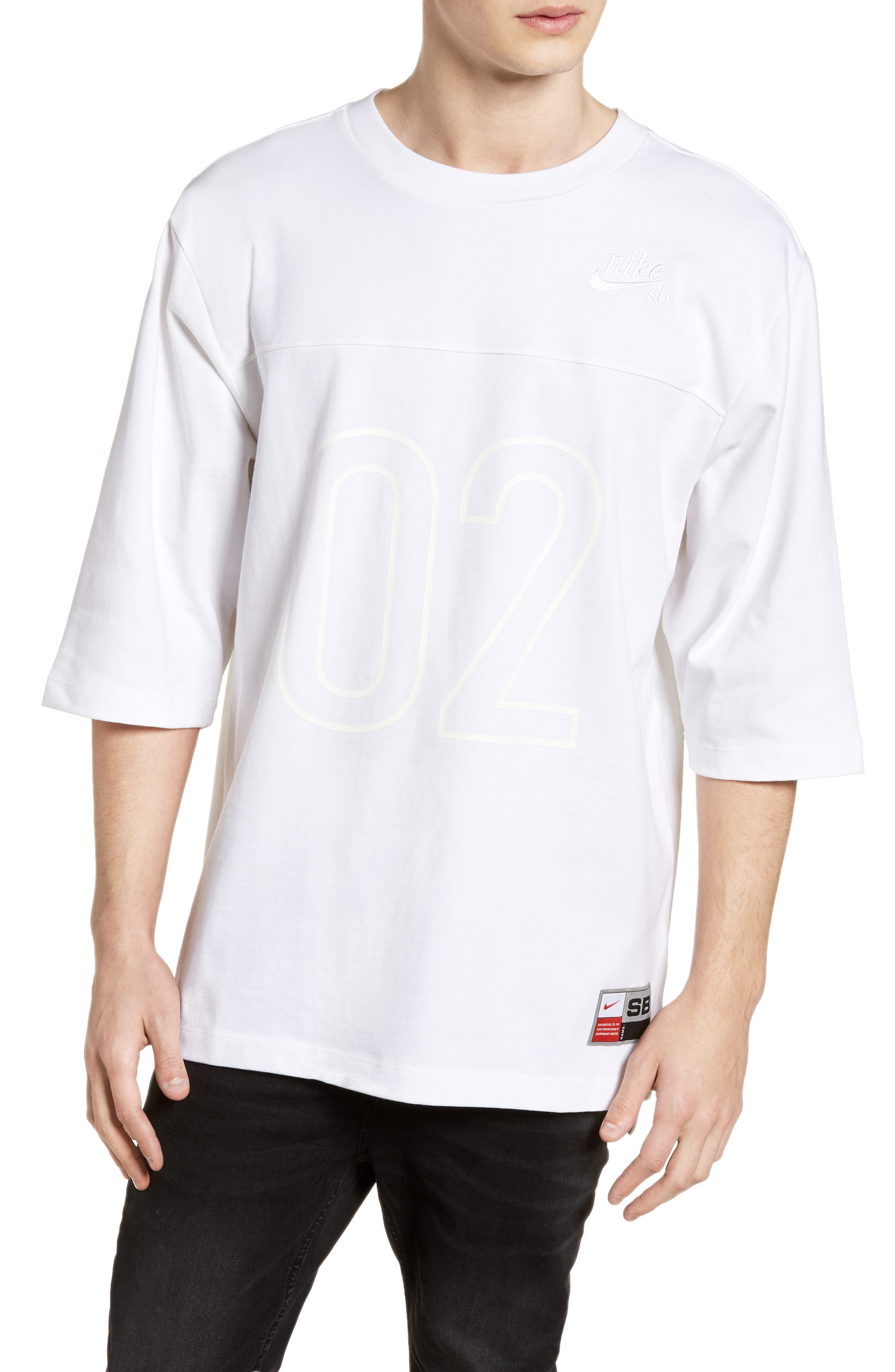 Nike Sb Dri-Fit Basketball Daydream T-Shirt, White