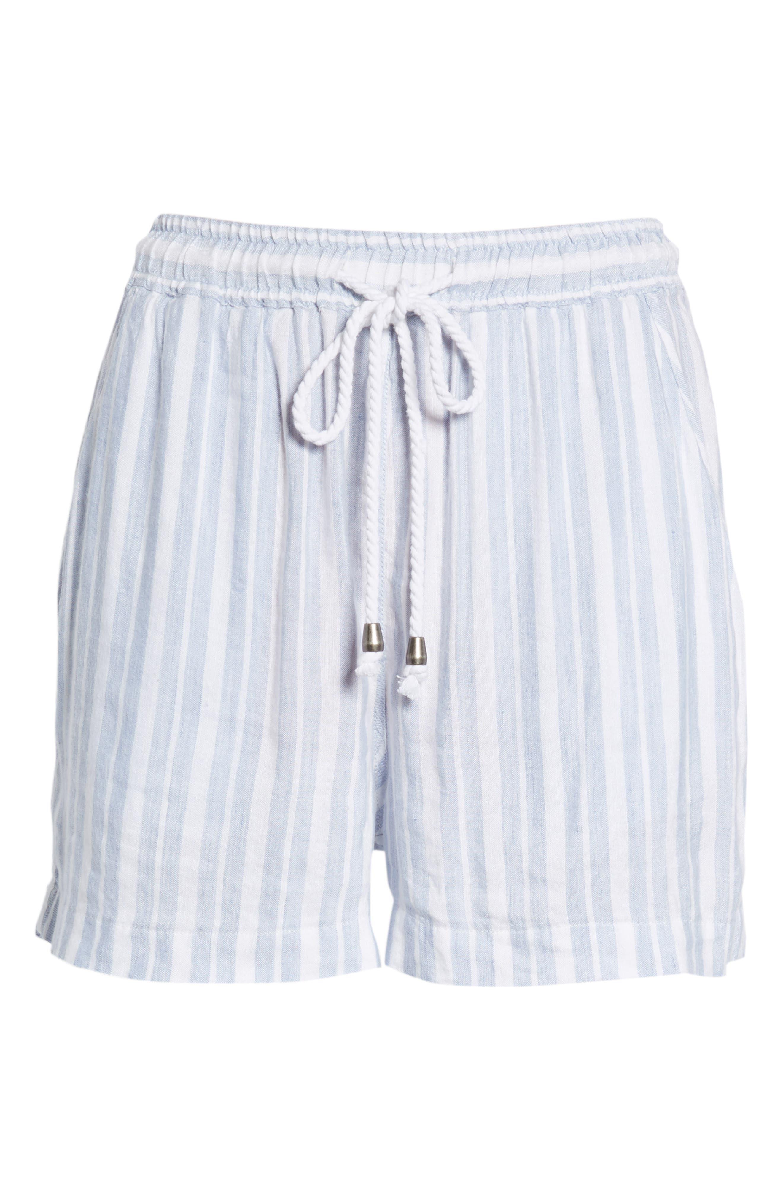 Brea Shorts,                             Alternate thumbnail 6, color,                             HOLLAND STRIPE