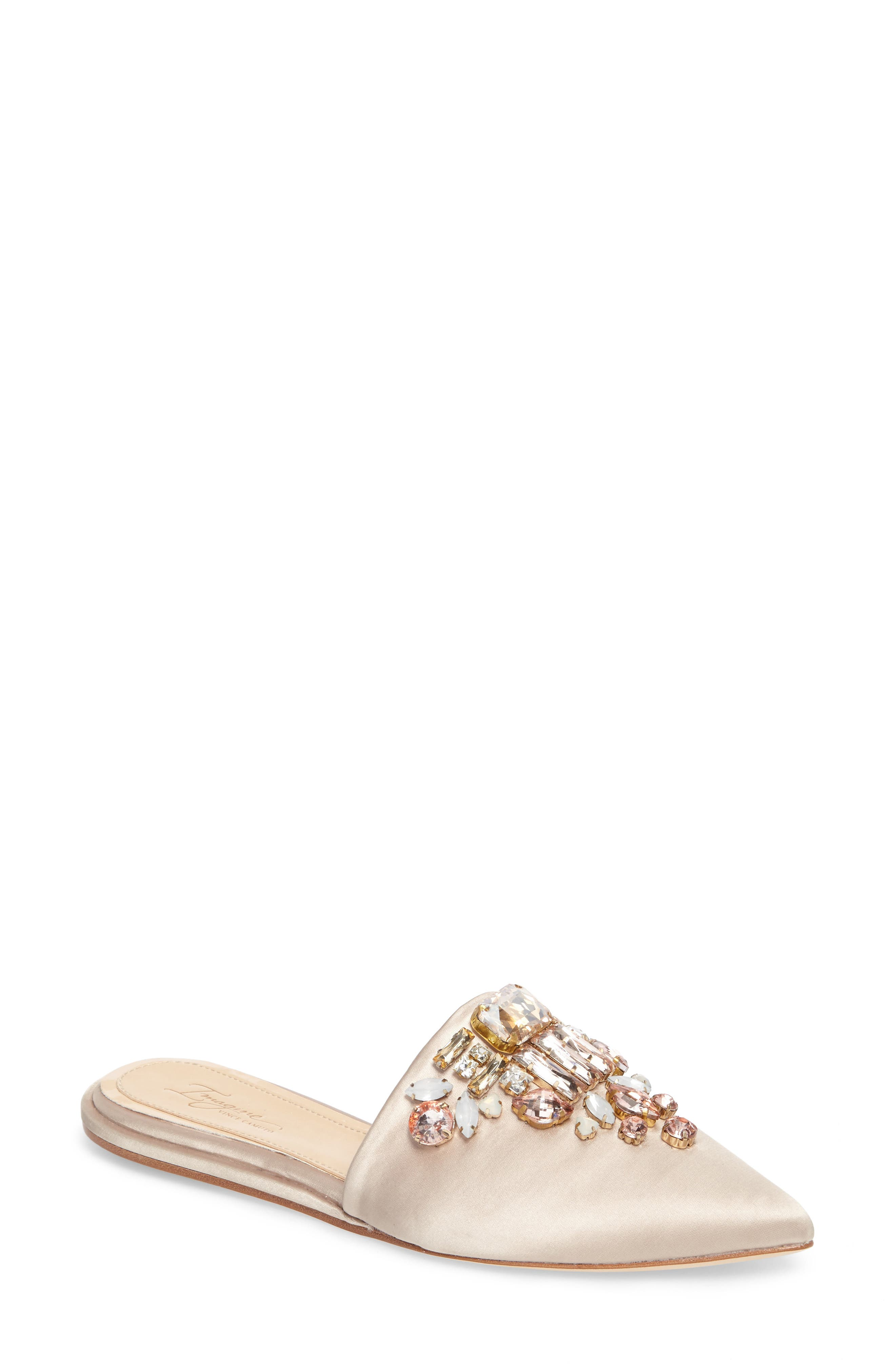 Imagine Vince Camuto Caide Embellished Mule,                             Main thumbnail 2, color,