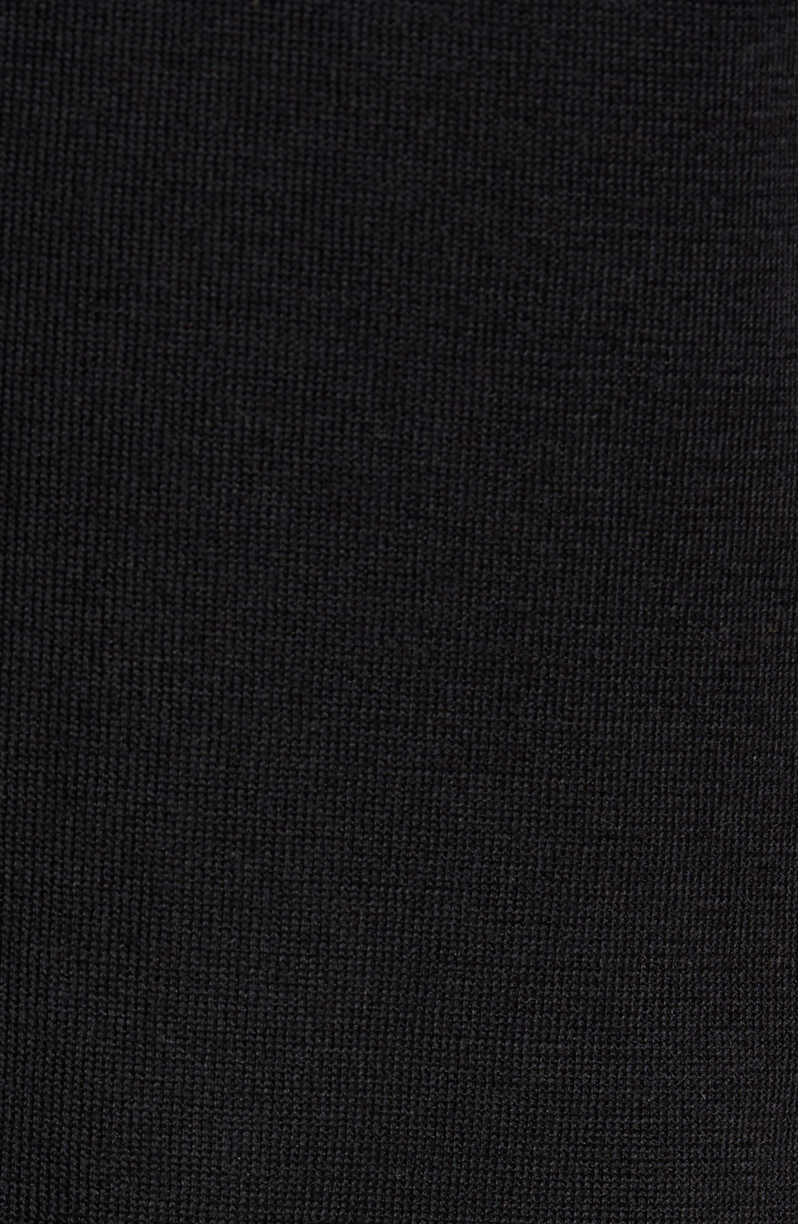 Jones Aim Hybrid Classic Fit Knit Wool Blend Blazer,                             Alternate thumbnail 6, color,                             001