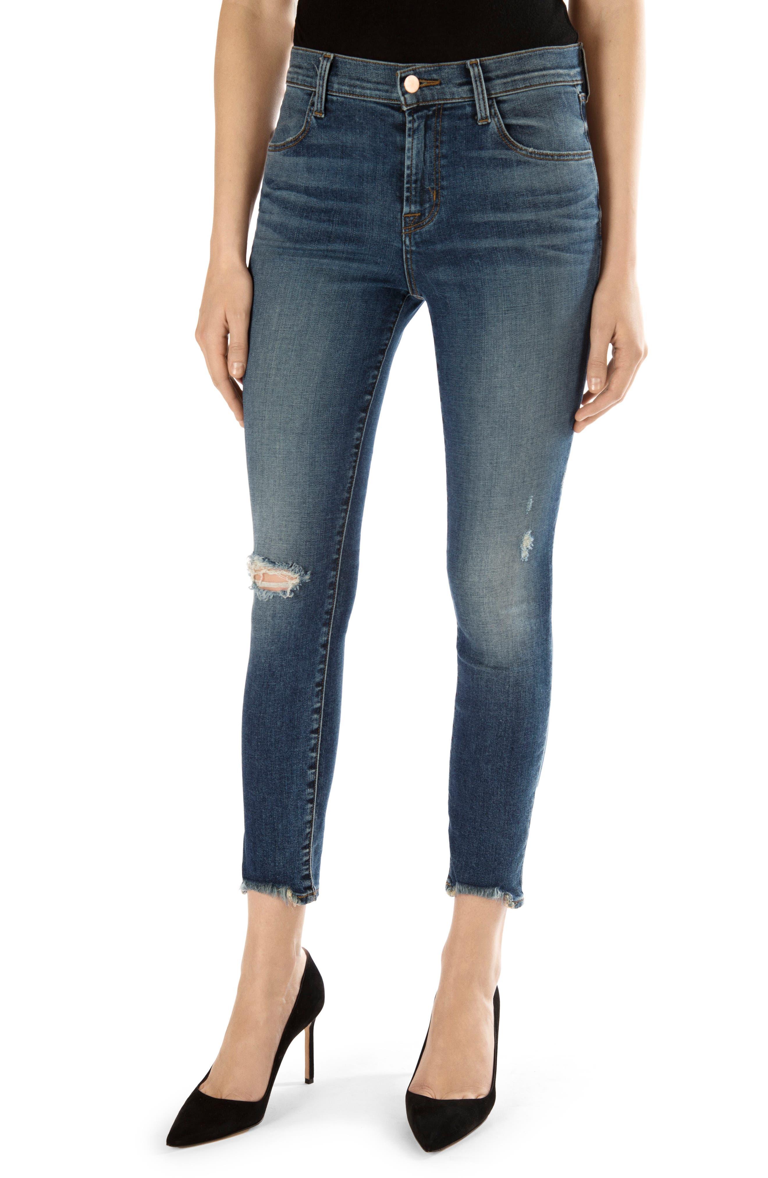 Alana High Waist Crop Skinny Jeans, Main, color, 469