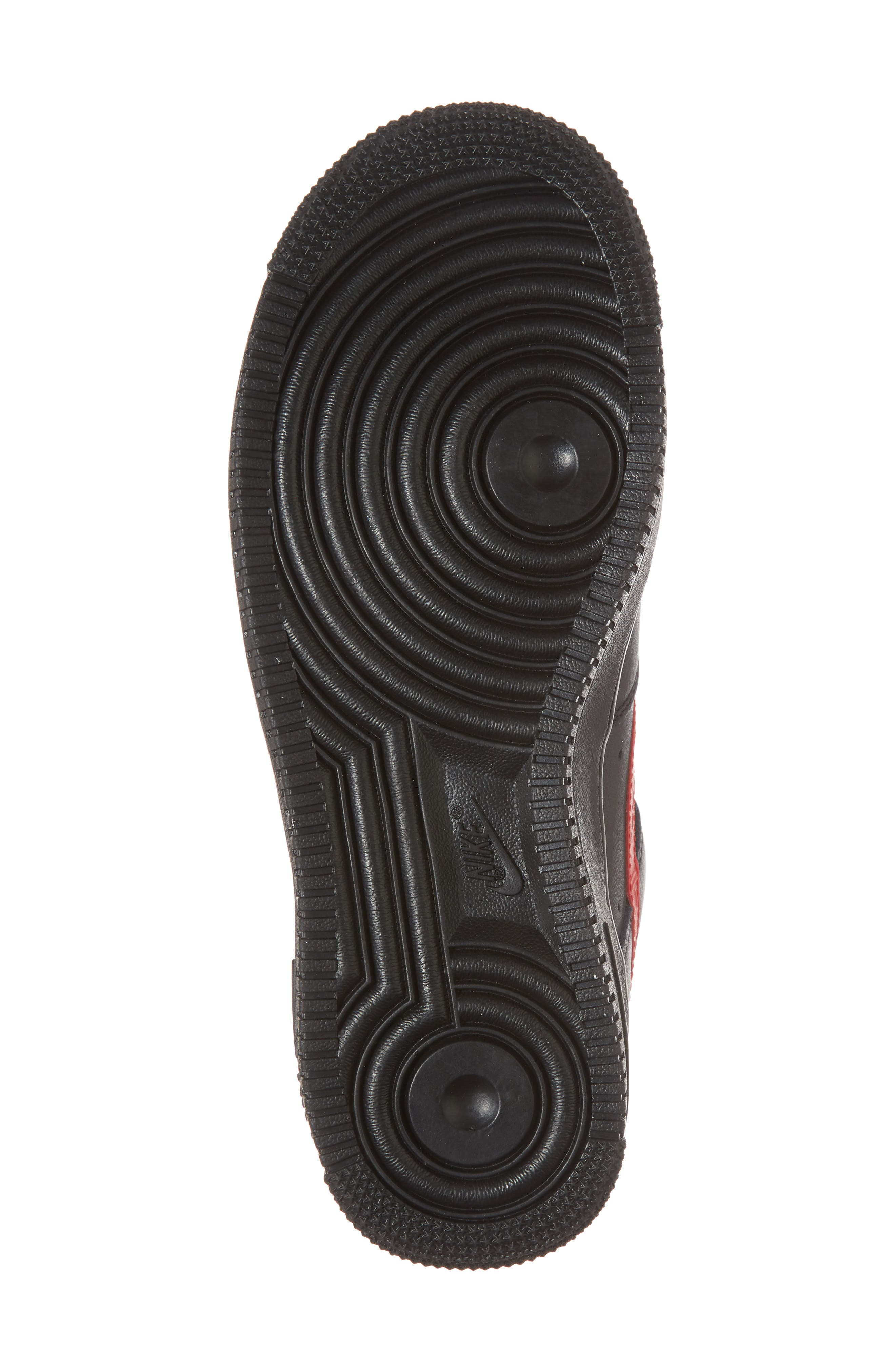 Air Force 1 '07 Sneaker,                             Alternate thumbnail 6, color,                             001