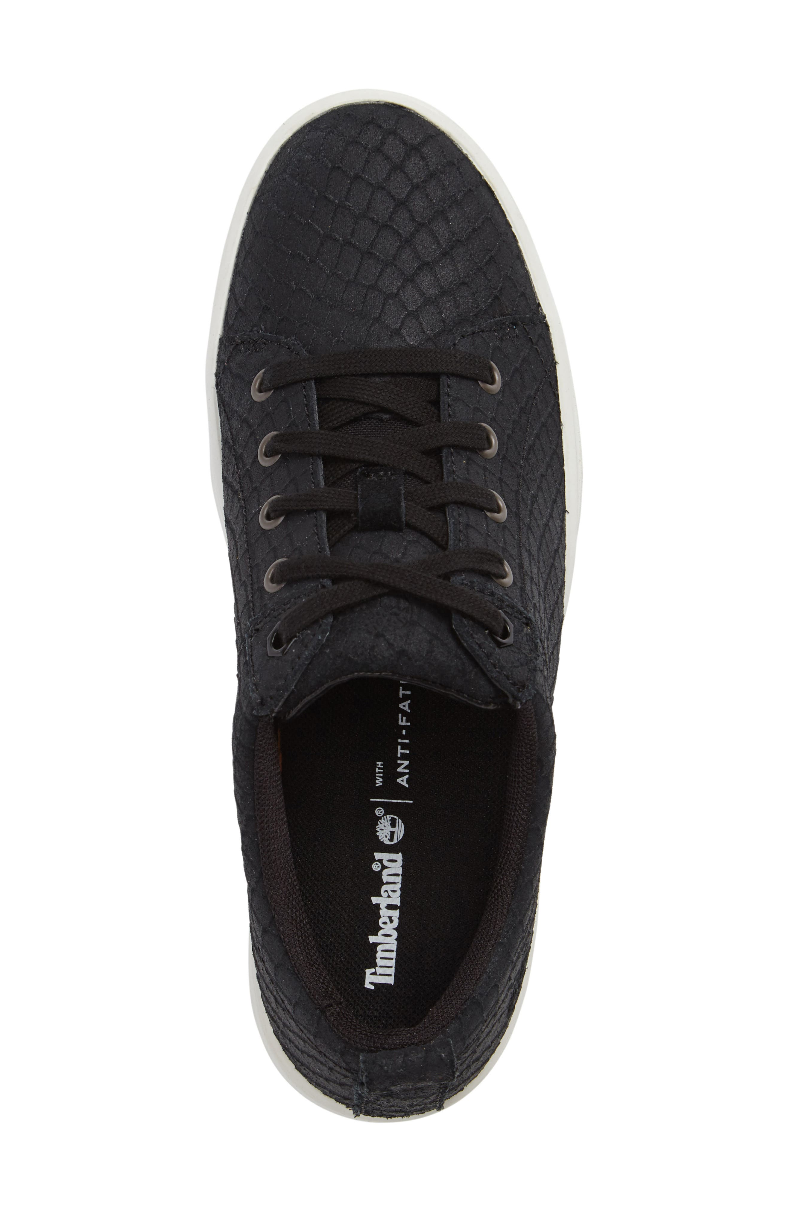 Mayliss Oxford Sneaker,                             Alternate thumbnail 3, color,                             001