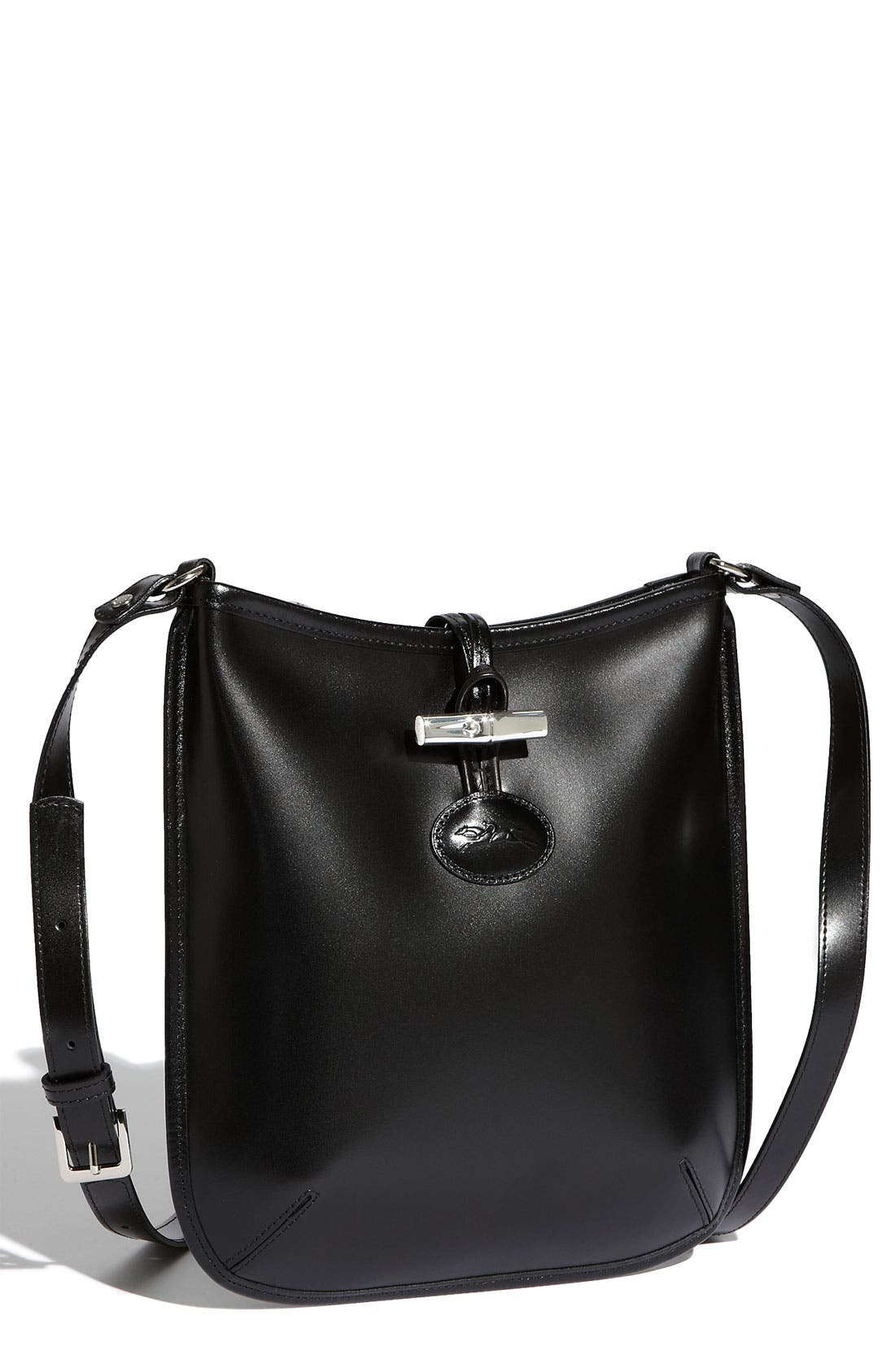 'Roseau' Crossbody Bag, Main, color, 001