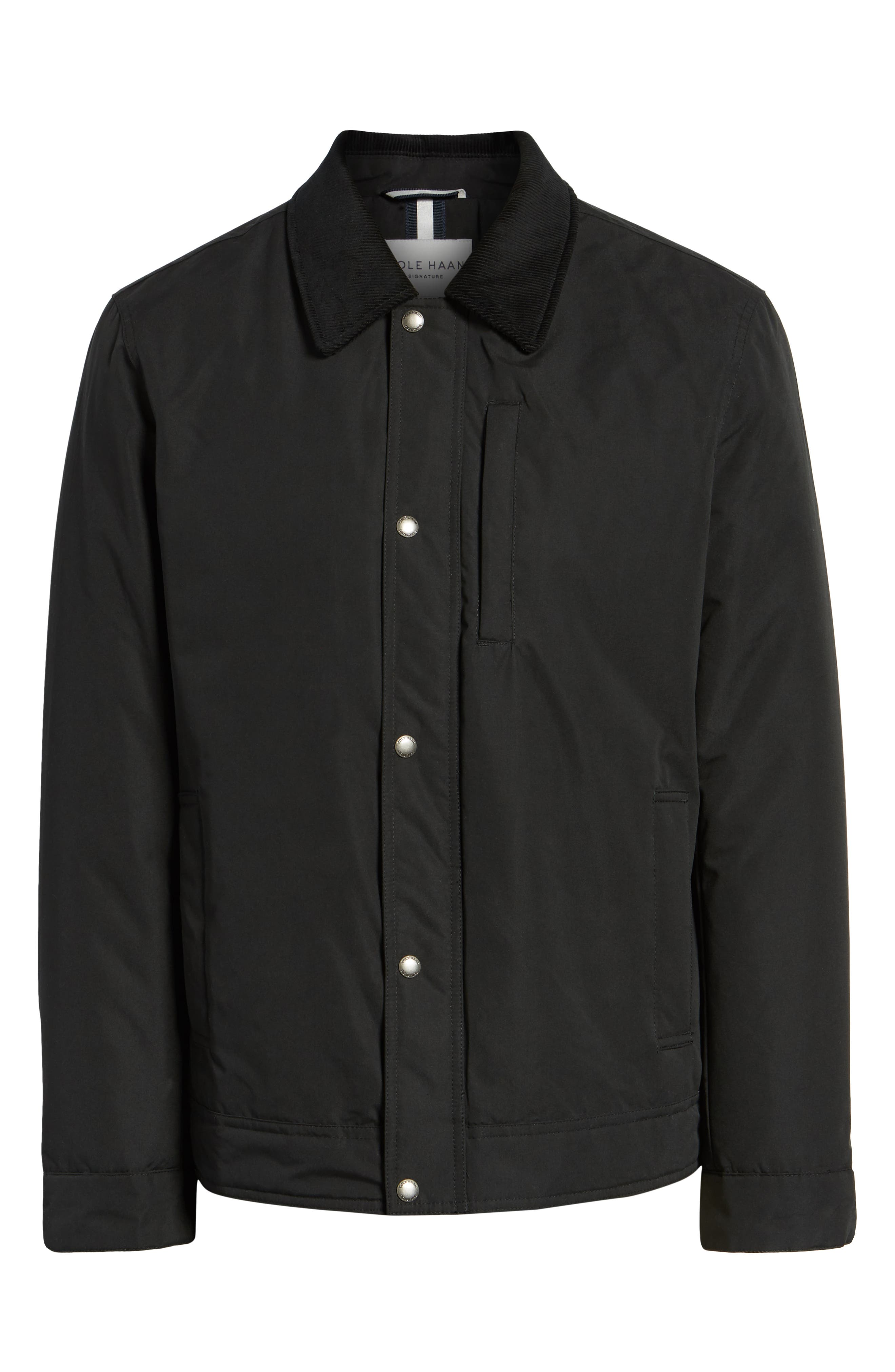 City Rain Barn Jacket,                             Alternate thumbnail 6, color,                             BLACK