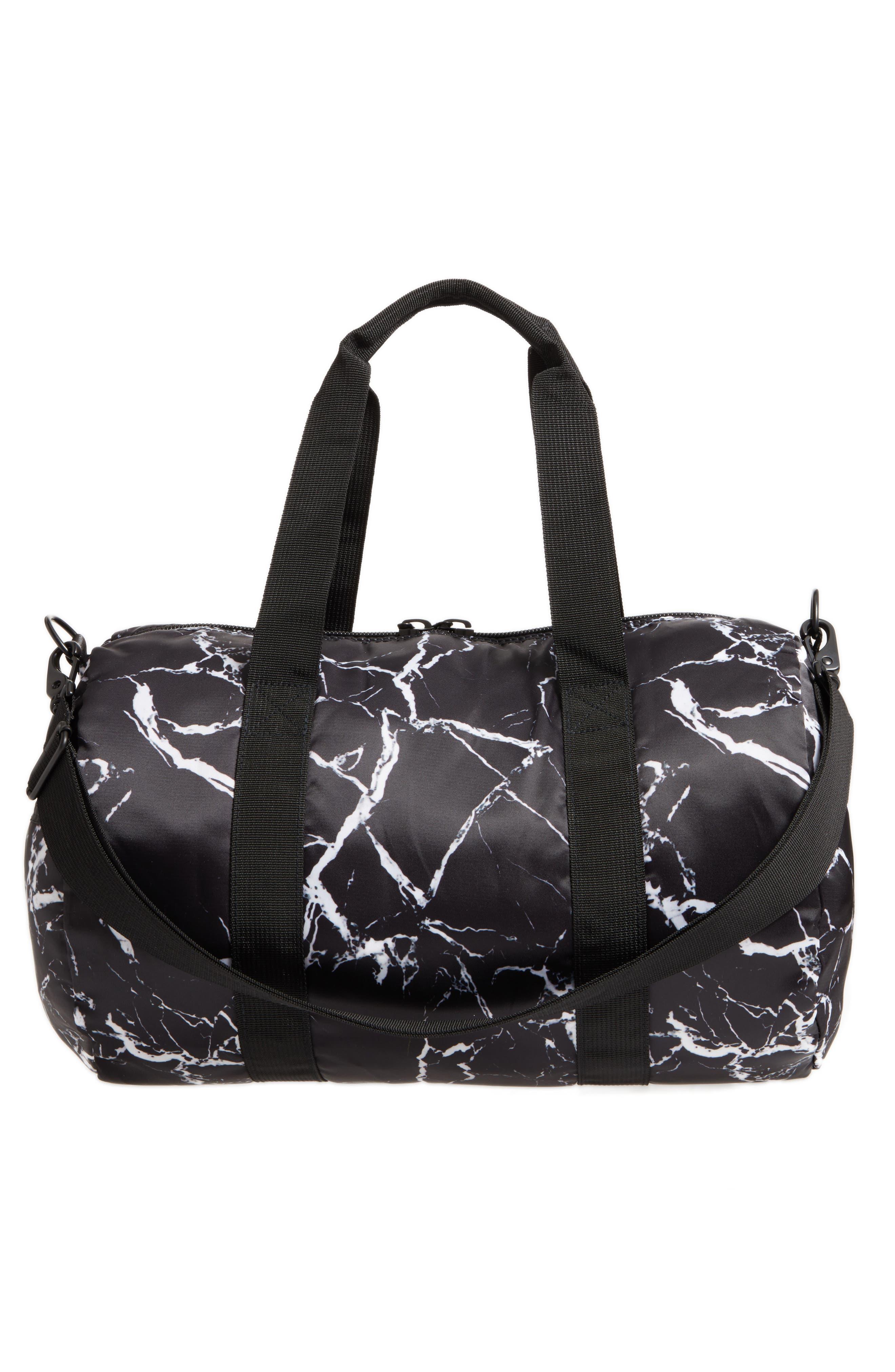 Roadie Small Duffel Bag,                             Alternate thumbnail 3, color,                             001
