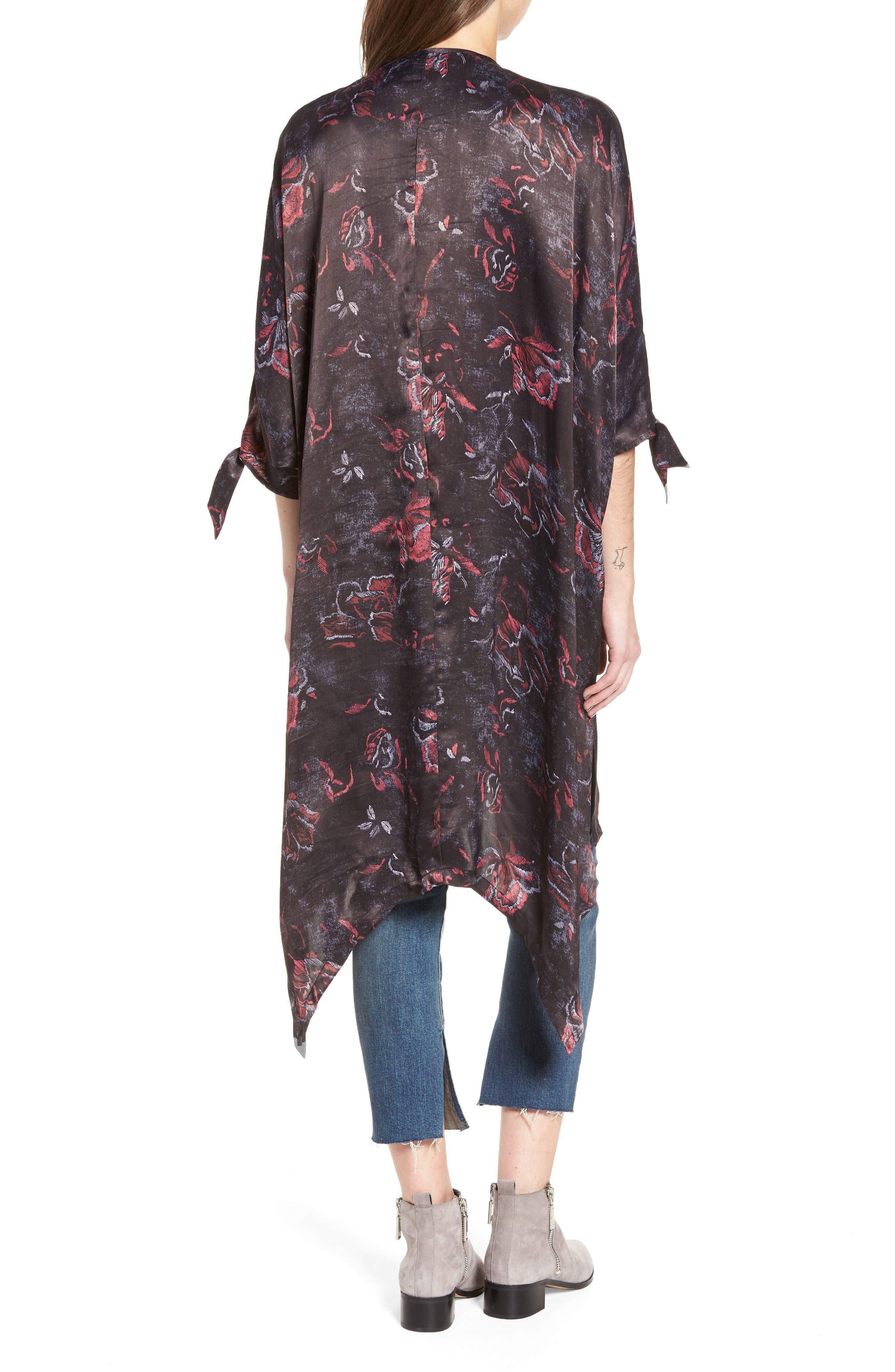High/Low Kimono,                             Alternate thumbnail 2, color,                             001
