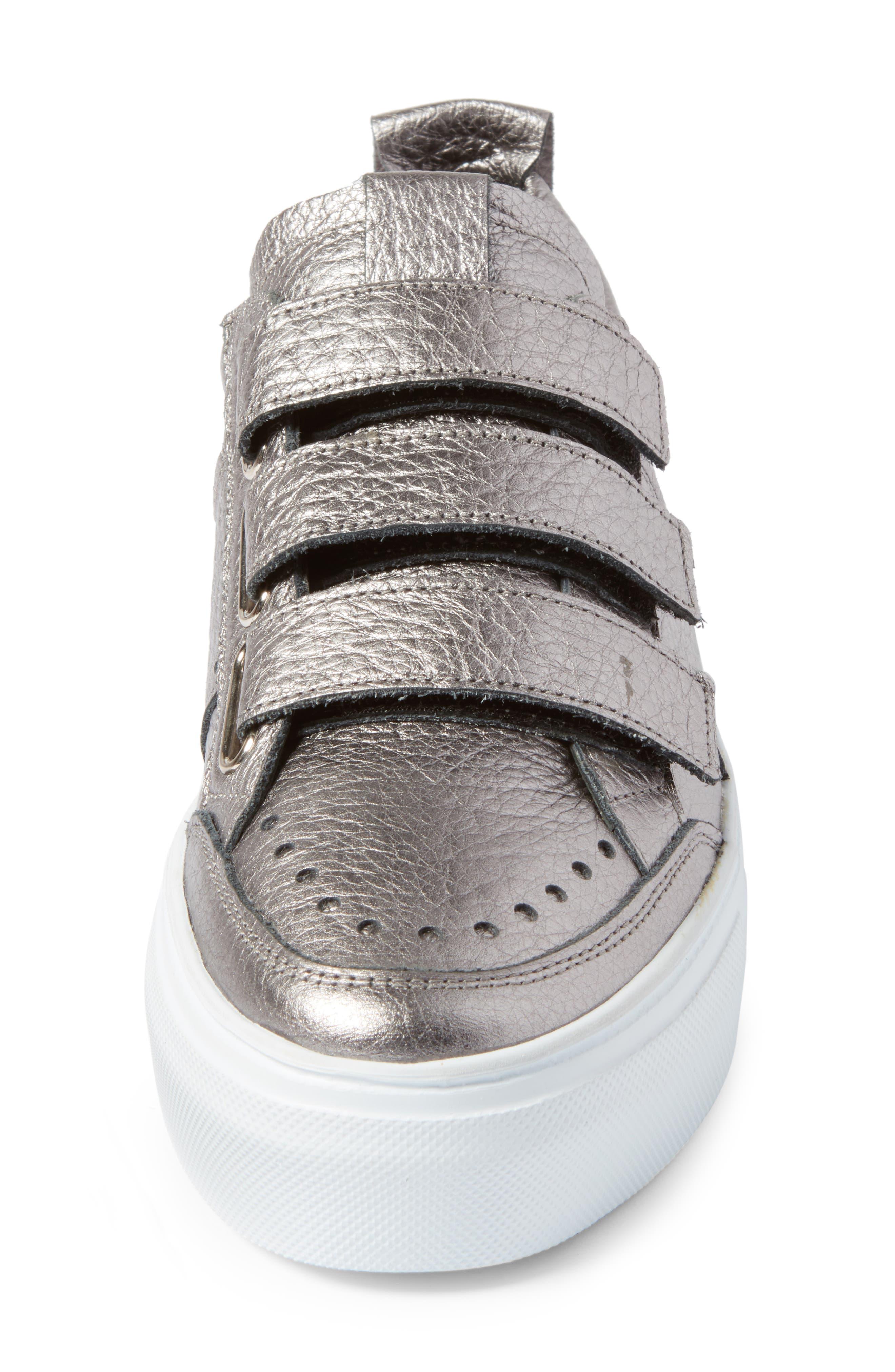 Kennel & Schmenger Big Low Top Tab Sneaker,                             Alternate thumbnail 4, color,                             020