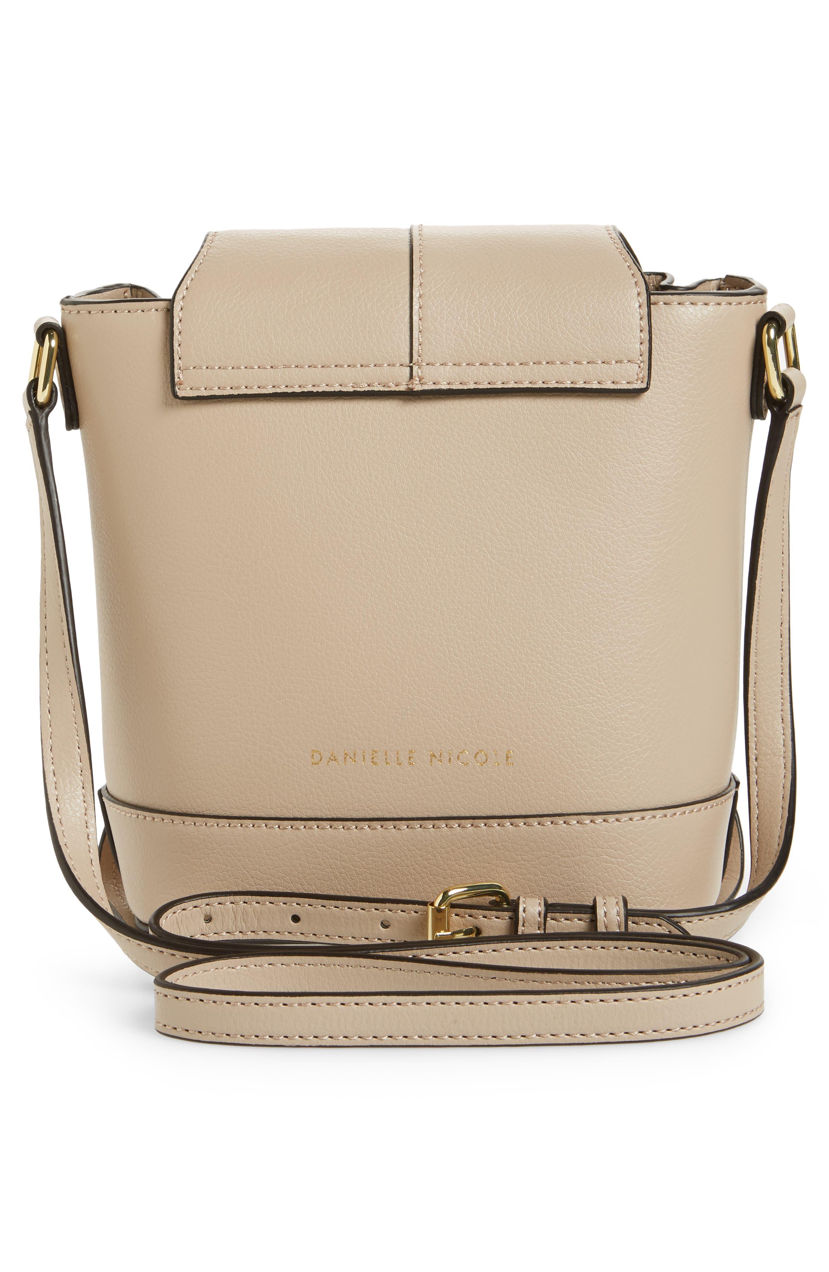Beckett Leather Crossbody Bag,                             Alternate thumbnail 3, color,                             250