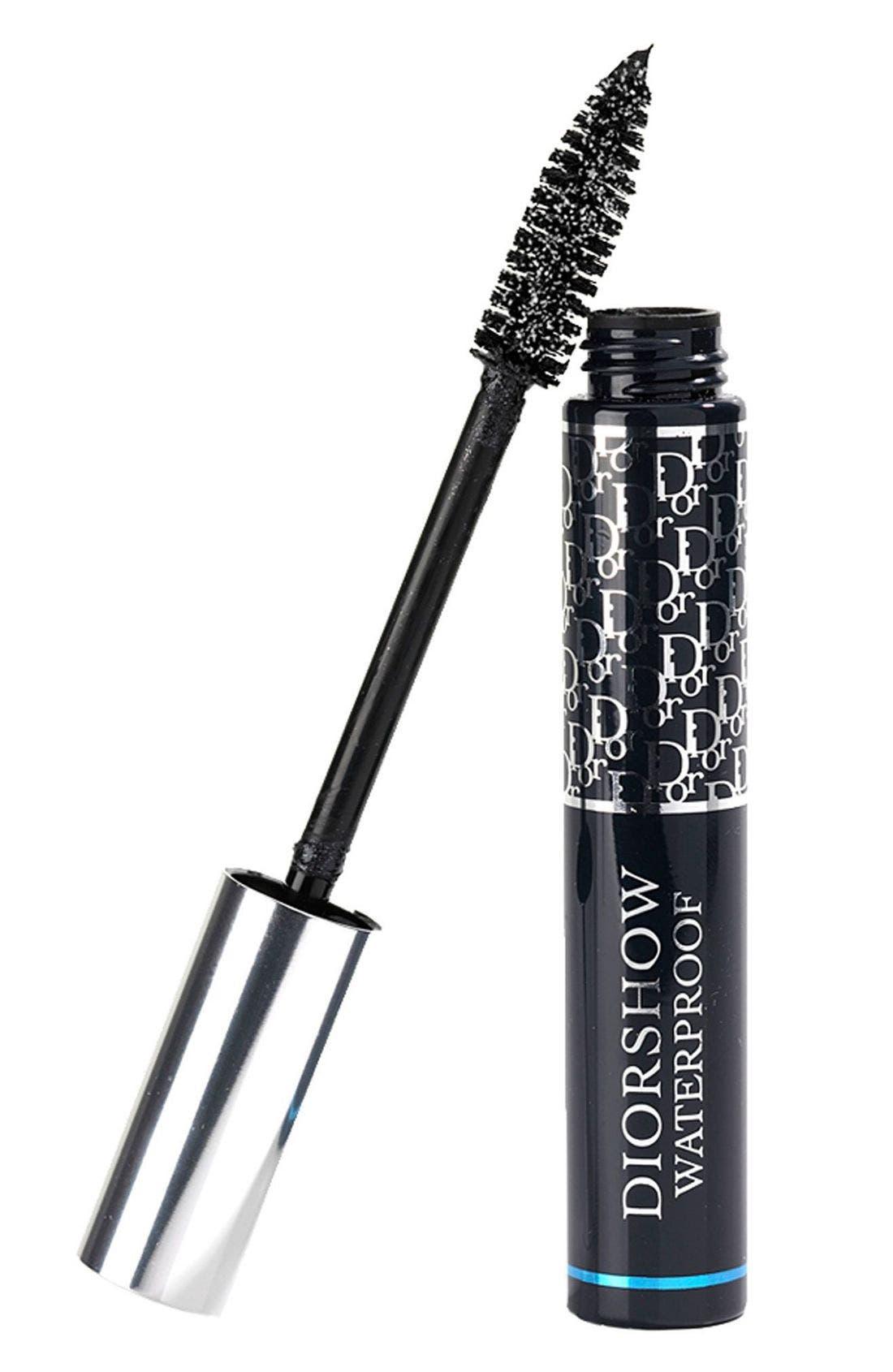 Diorshow Waterproof Mascara,                         Main,                         color, BLACK 090