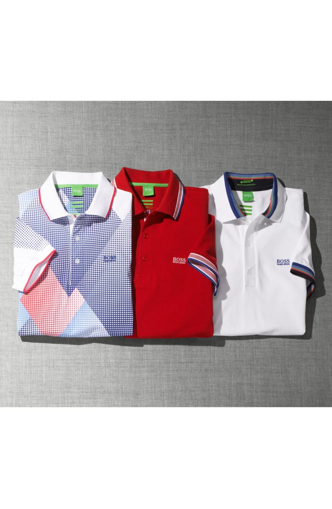 'Basic' Piqué Golf Polo,                             Alternate thumbnail 7, color,                             001