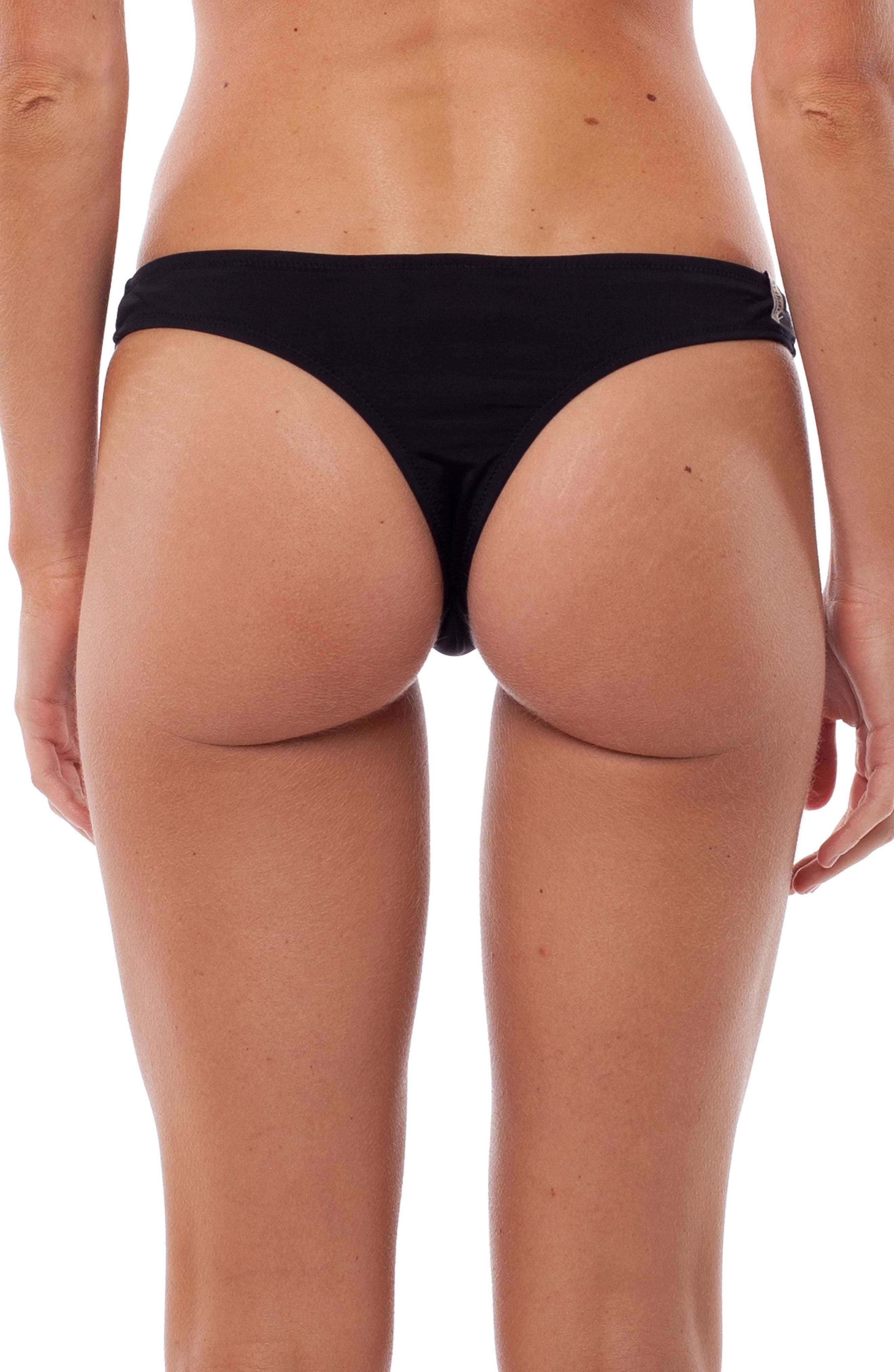 My Brazil Bikini Bottoms,                             Alternate thumbnail 2, color,                             BLACK