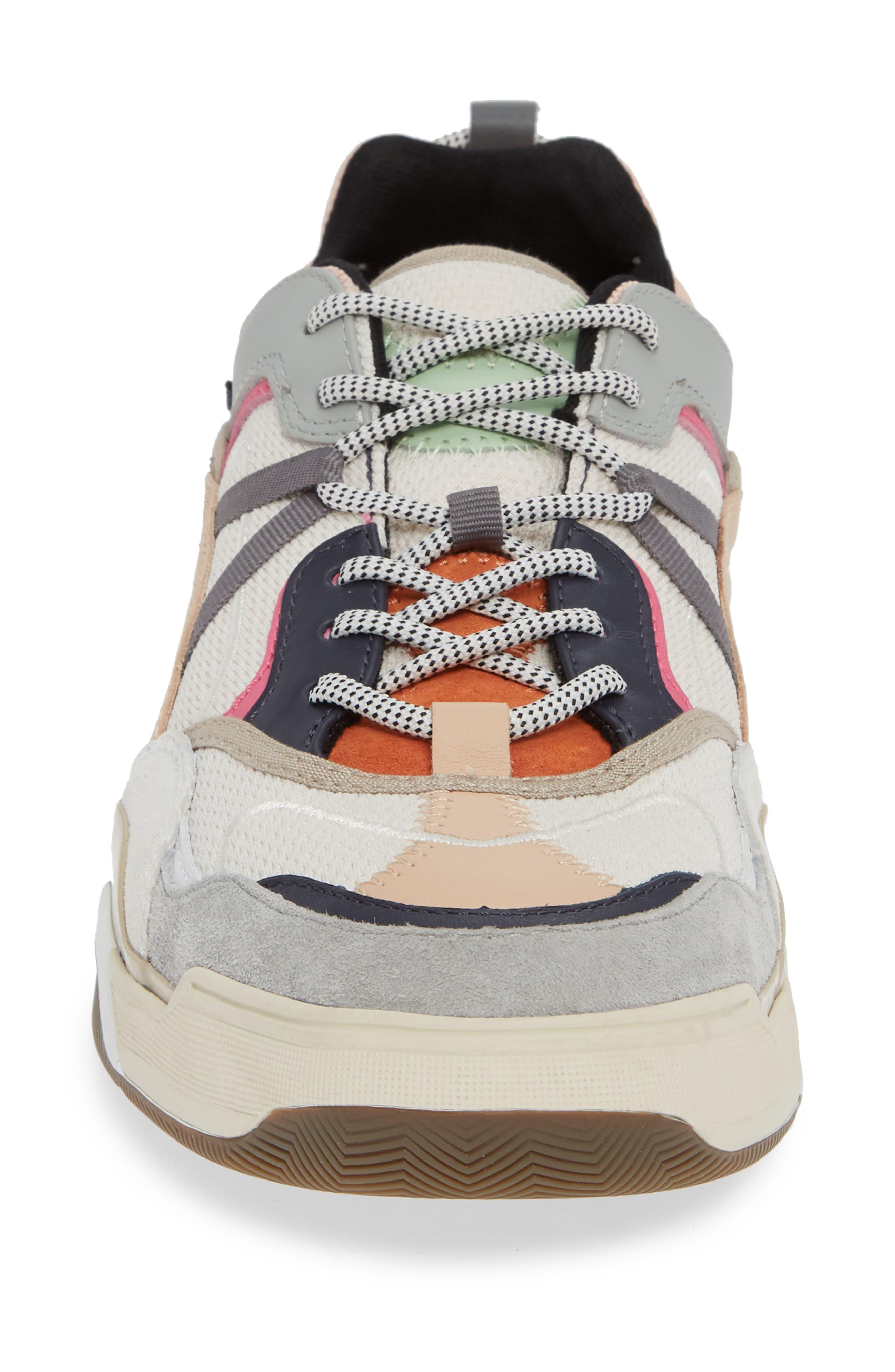 VANS,                             Varix WC Sneaker,                             Alternate thumbnail 4, color,                             TURTLEDOVE/ TRUE WHITE LEATHER