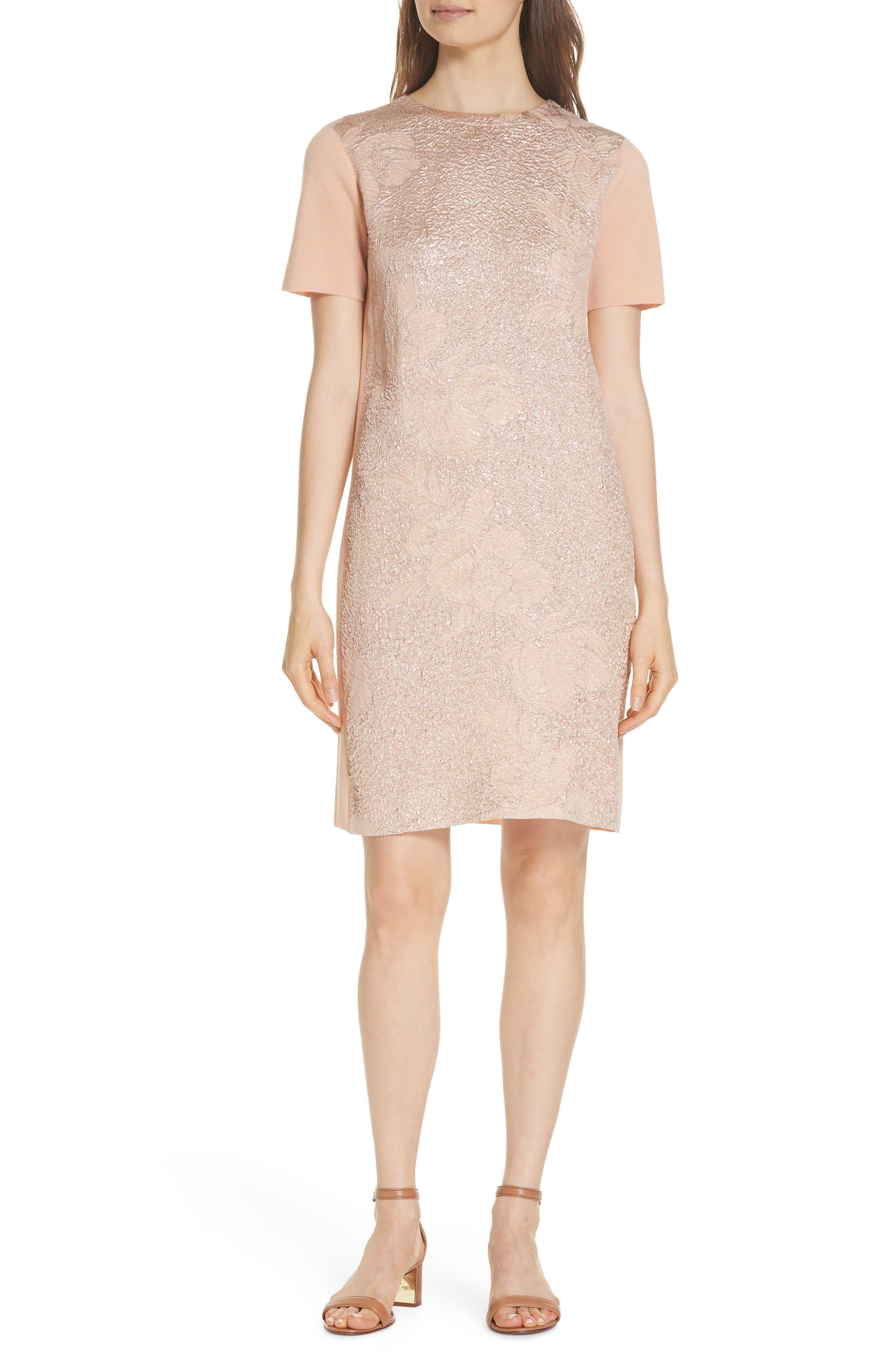 Jonah Jacquard Front Sweater Dress, Main, color, ALABASTER
