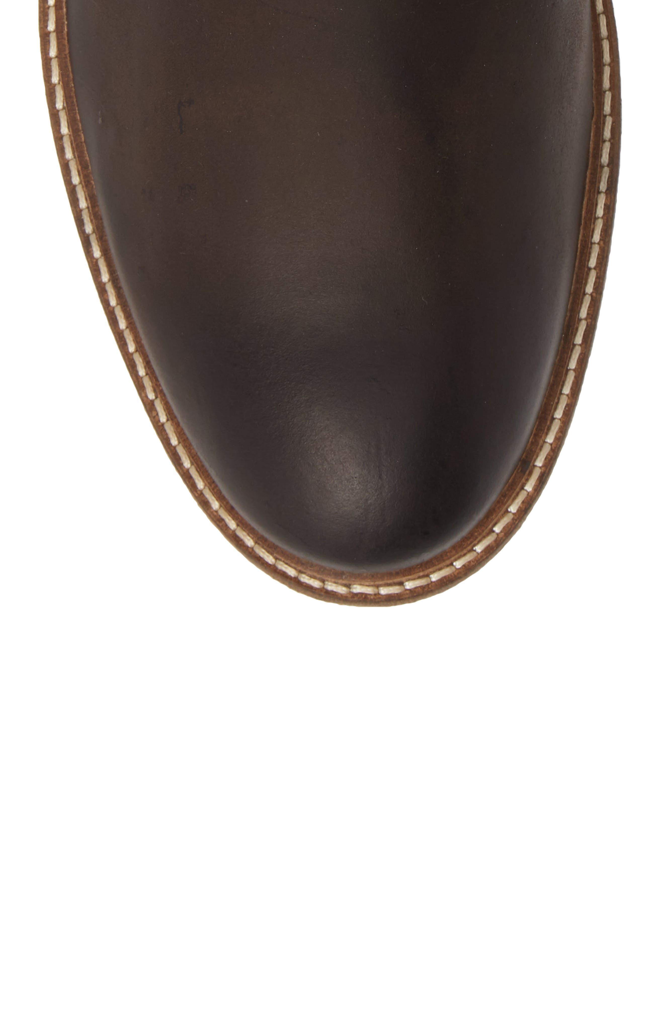 Oscar Plain Toe Boot,                             Alternate thumbnail 5, color,                             201