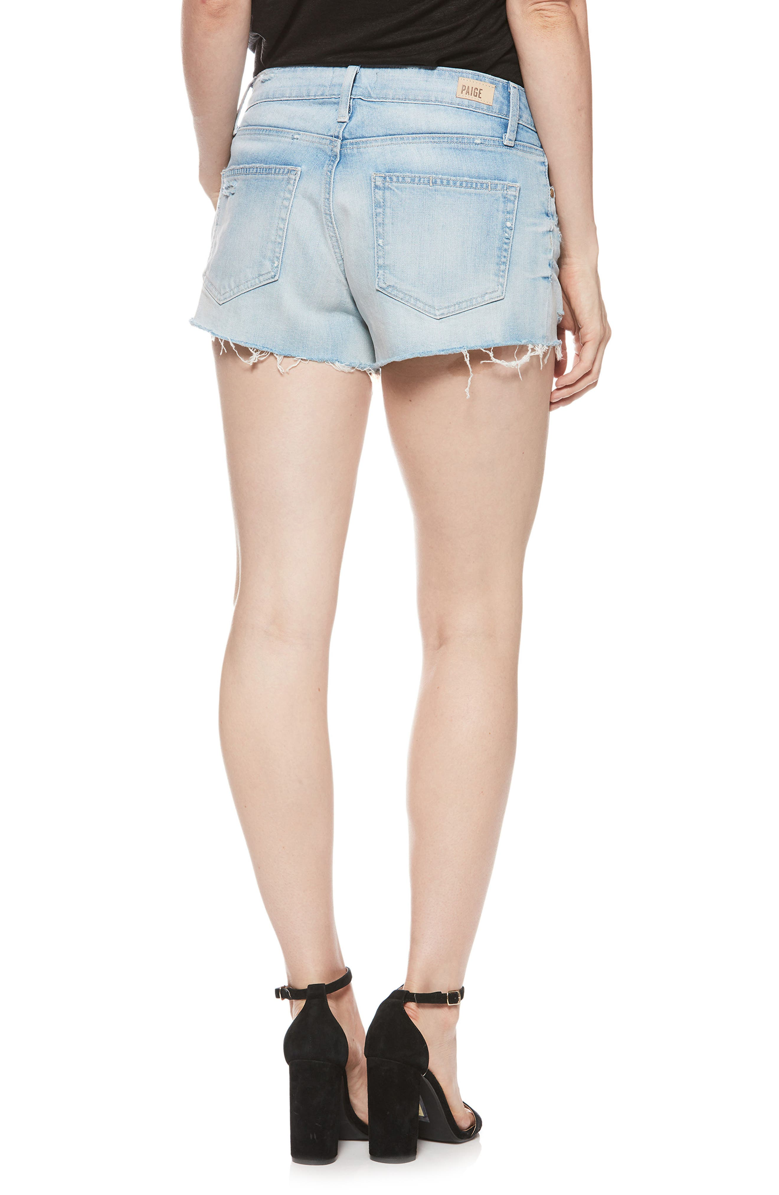 Emmit Relaxed Denim Shorts,                             Alternate thumbnail 2, color,                             400