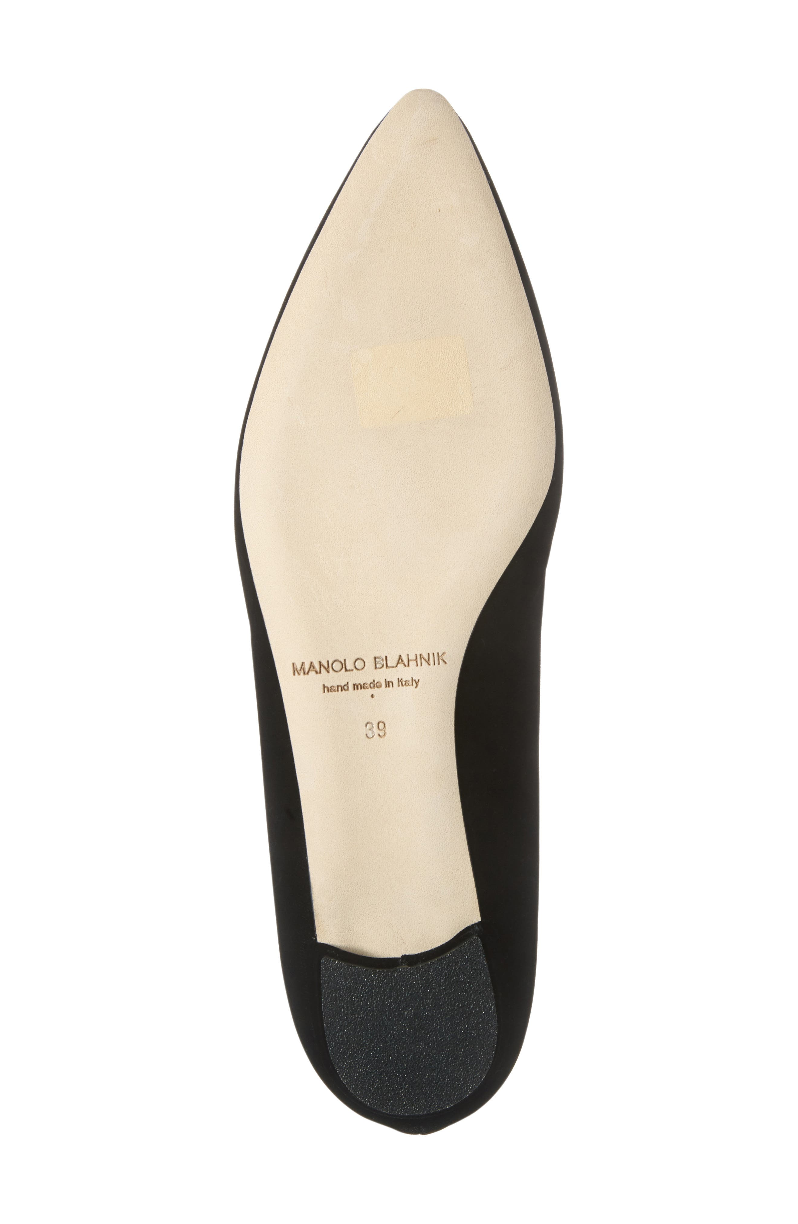 Hangisi Pointy Toe Flat,                             Alternate thumbnail 6, color,                             001