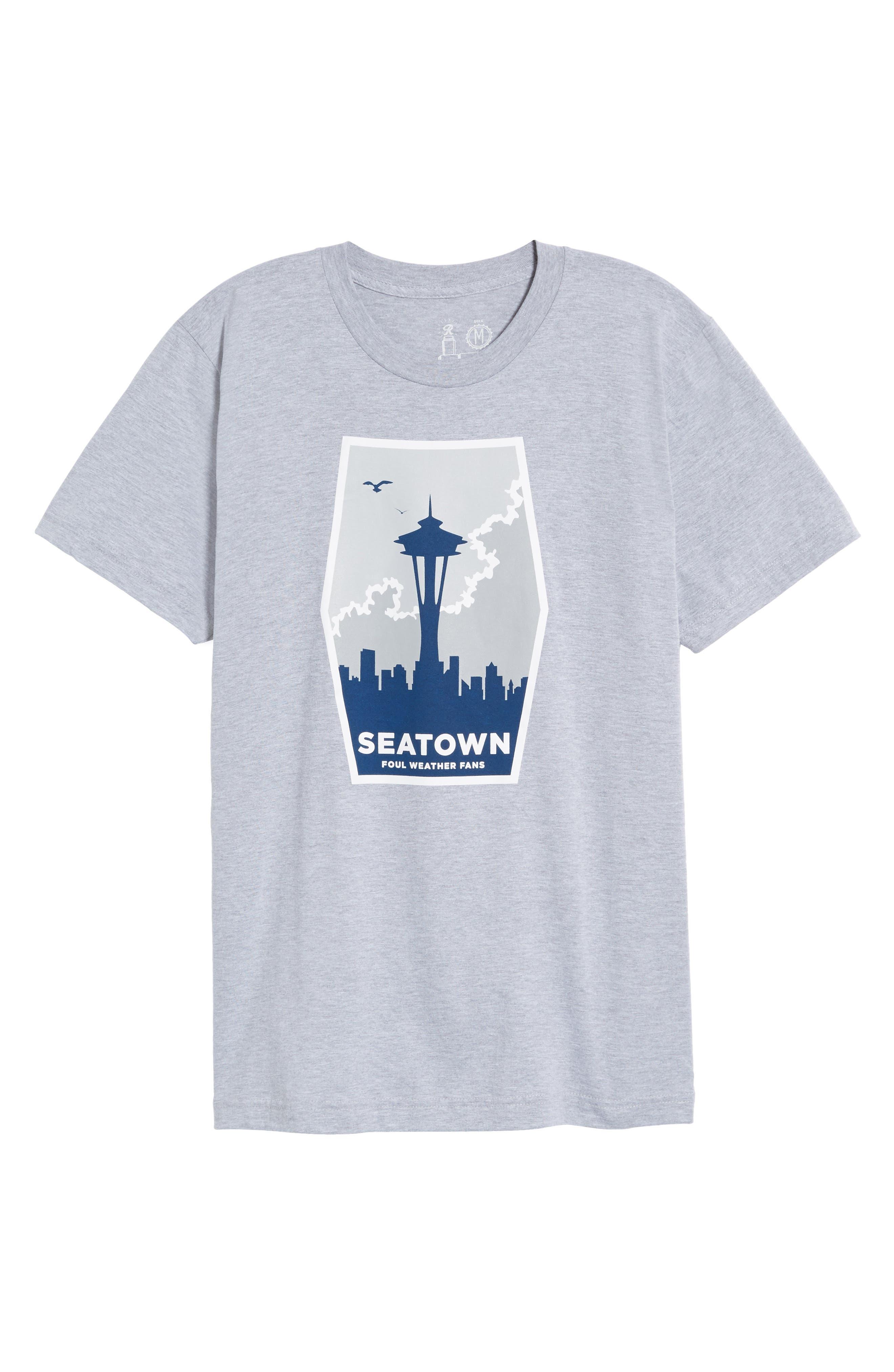 Foul Weather Fans T-Shirt,                             Alternate thumbnail 6, color,                             020