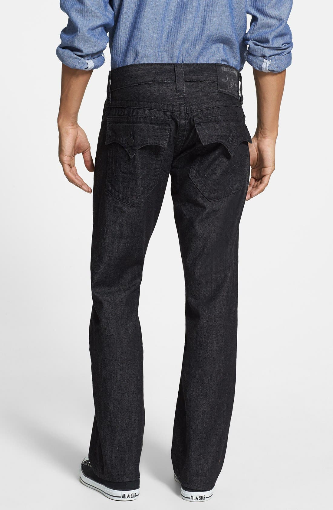 'Ricky' Relaxed Fit Jeans,                         Main,                         color, 001