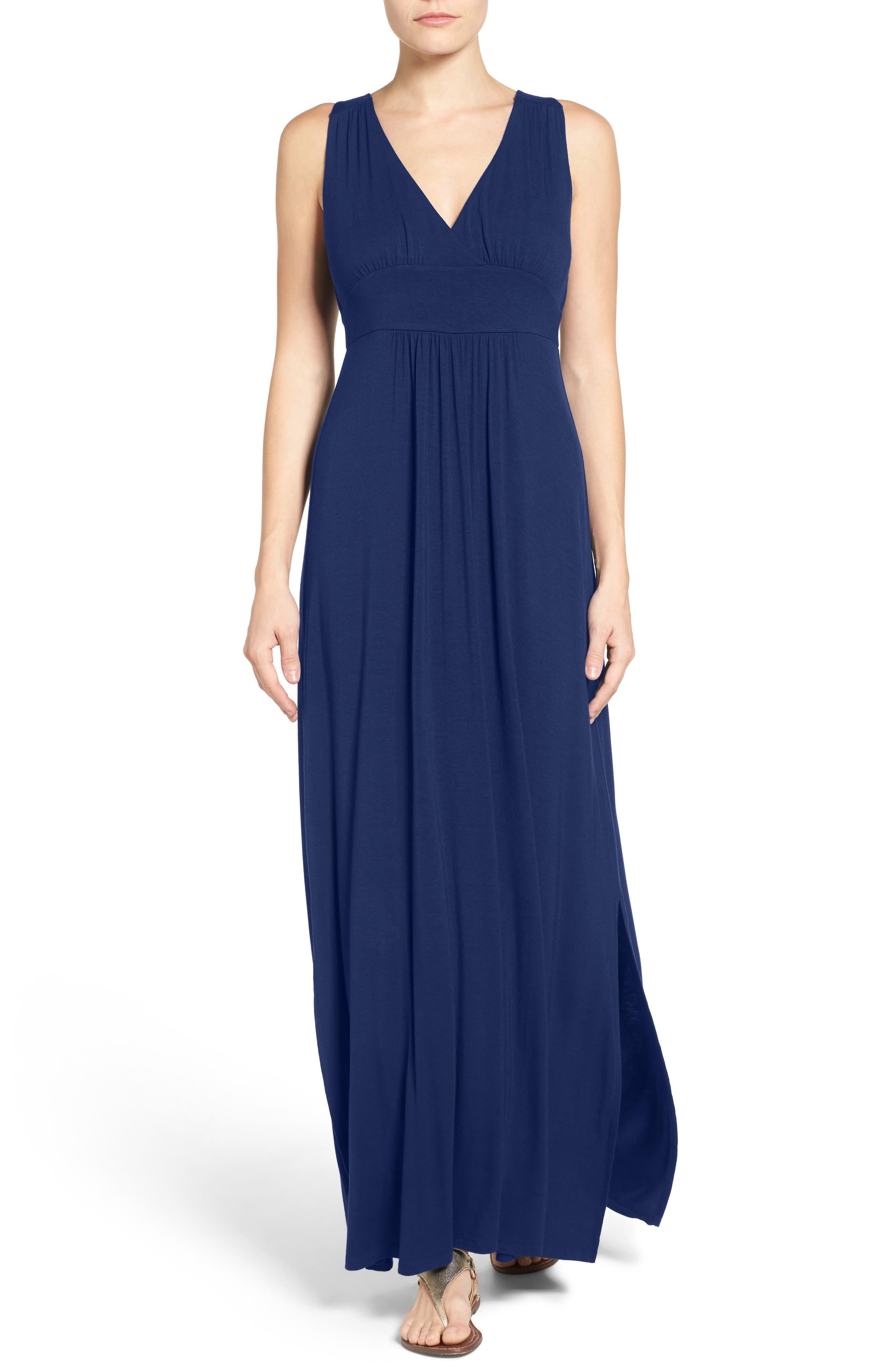 Knit Maxi Dress,                             Alternate thumbnail 9, color,