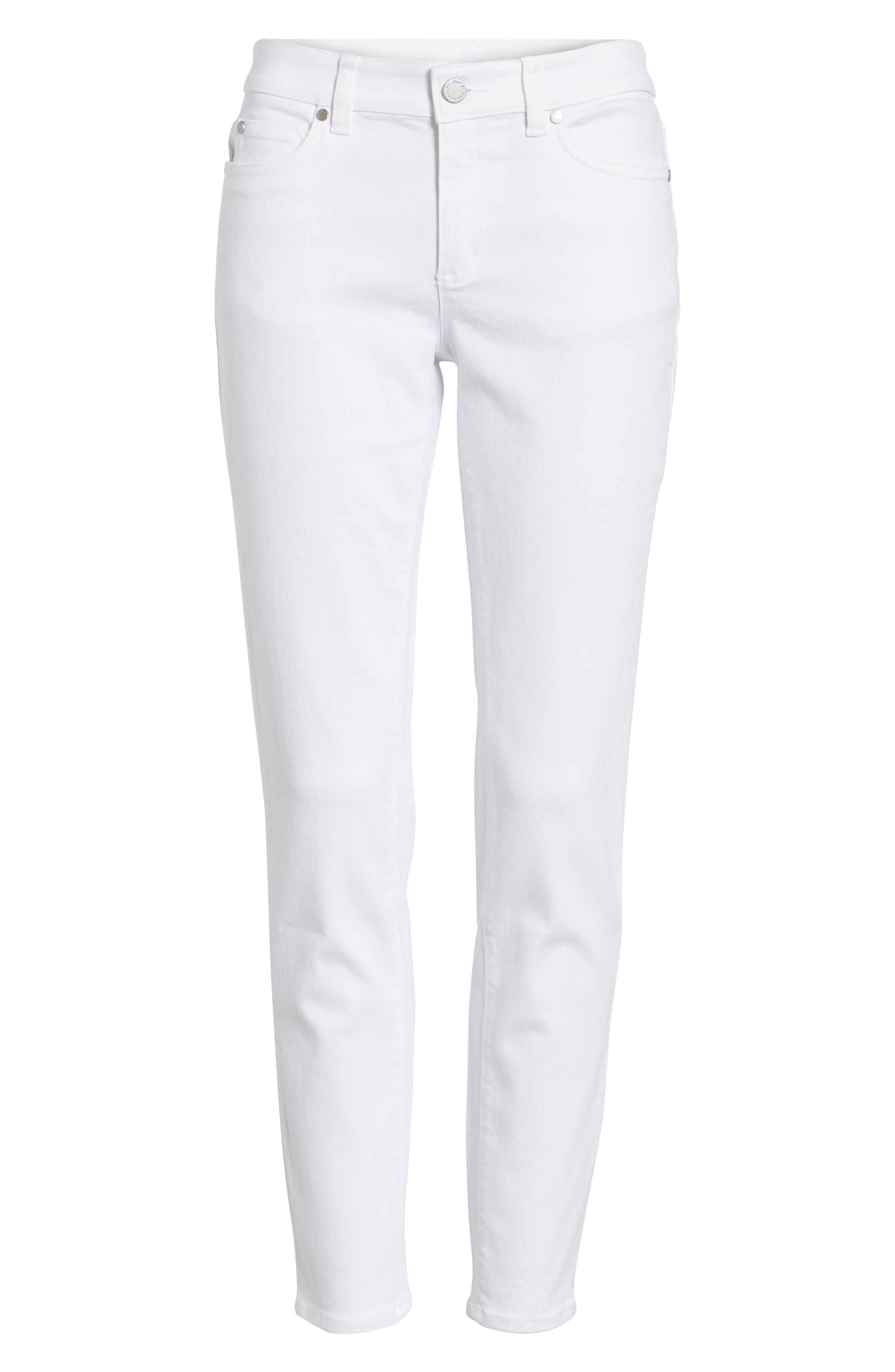Skinny Jeans,                             Alternate thumbnail 3, color,                             ULTRA WHITE