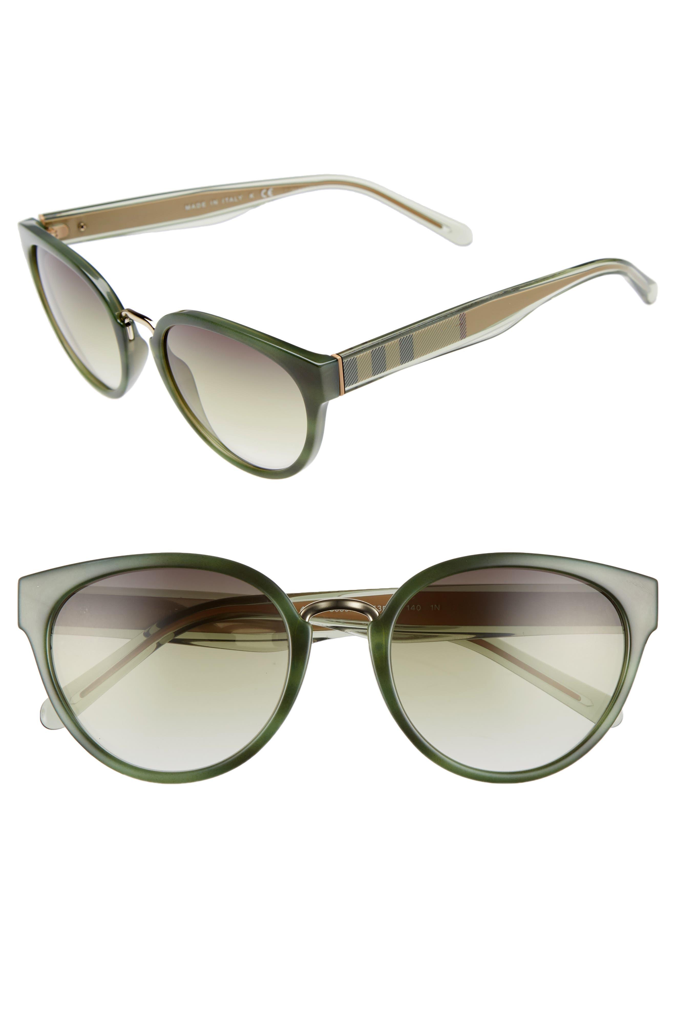 53mm Gradient Cat Eye Sunglasses,                             Main thumbnail 4, color,