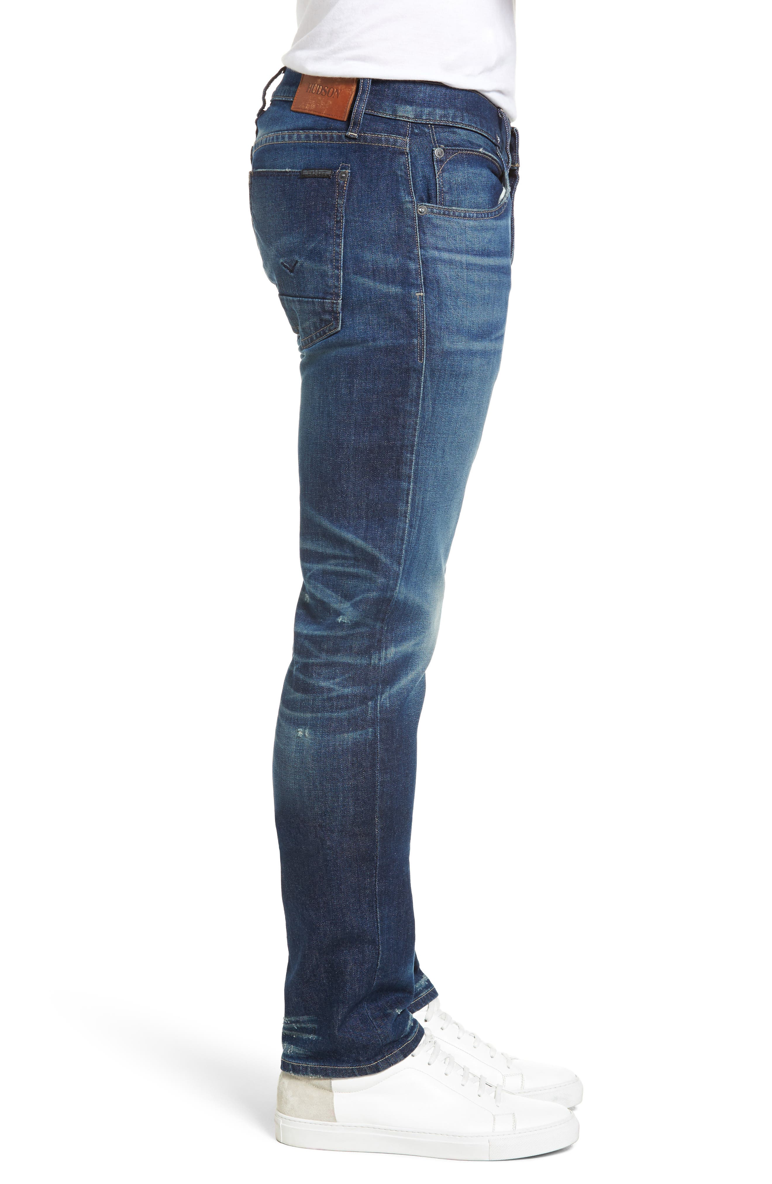 Blake Slim Fit Jeans,                             Alternate thumbnail 3, color,                             425