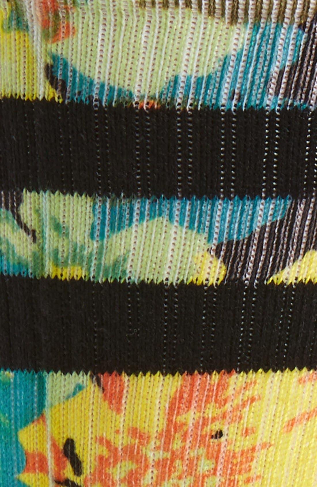 Corsage Classic Crew Socks,                             Alternate thumbnail 2, color,                             001