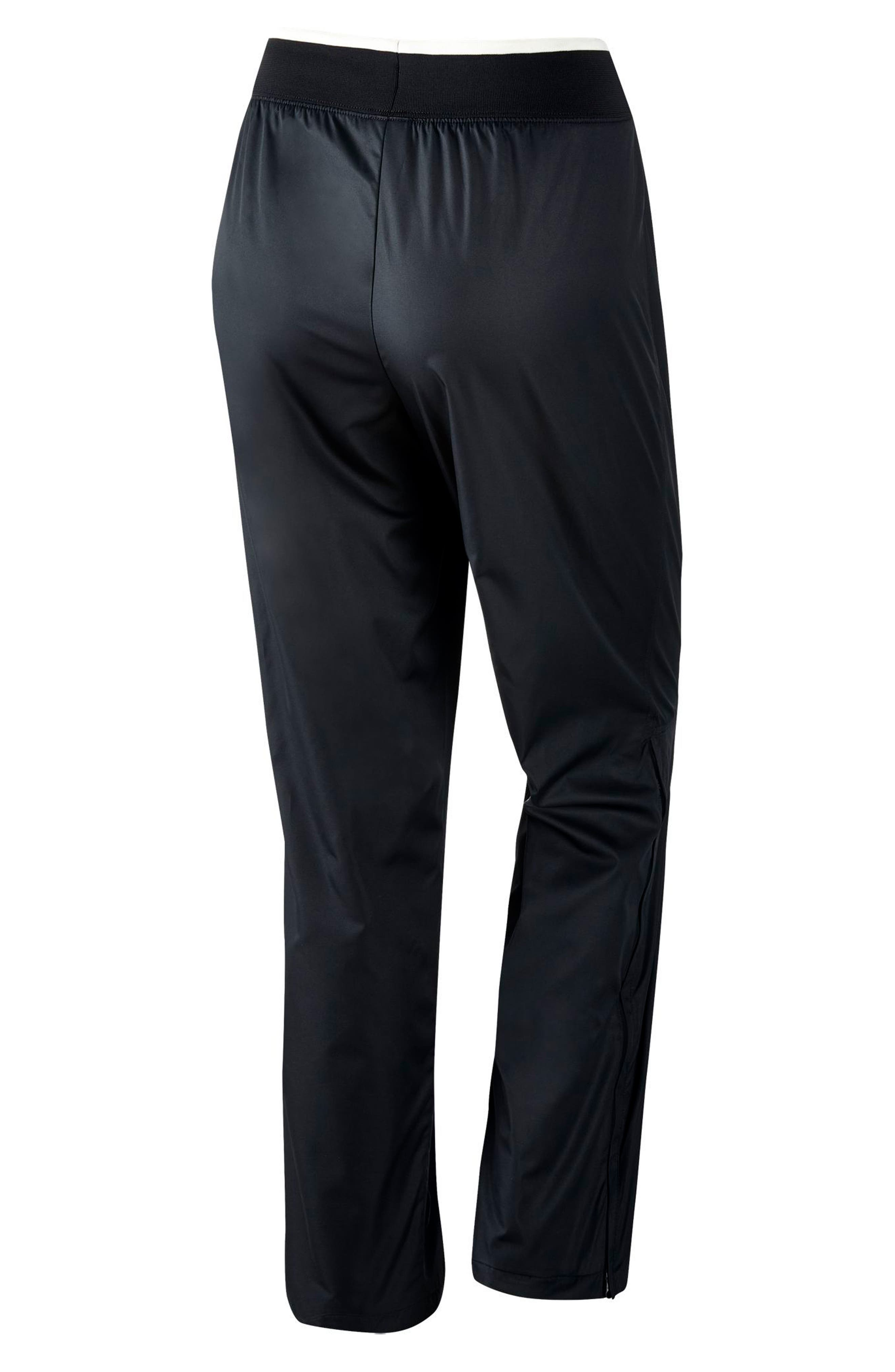 Sportswear Women's Stretch Faille Pants,                             Alternate thumbnail 6, color,                             BLACK