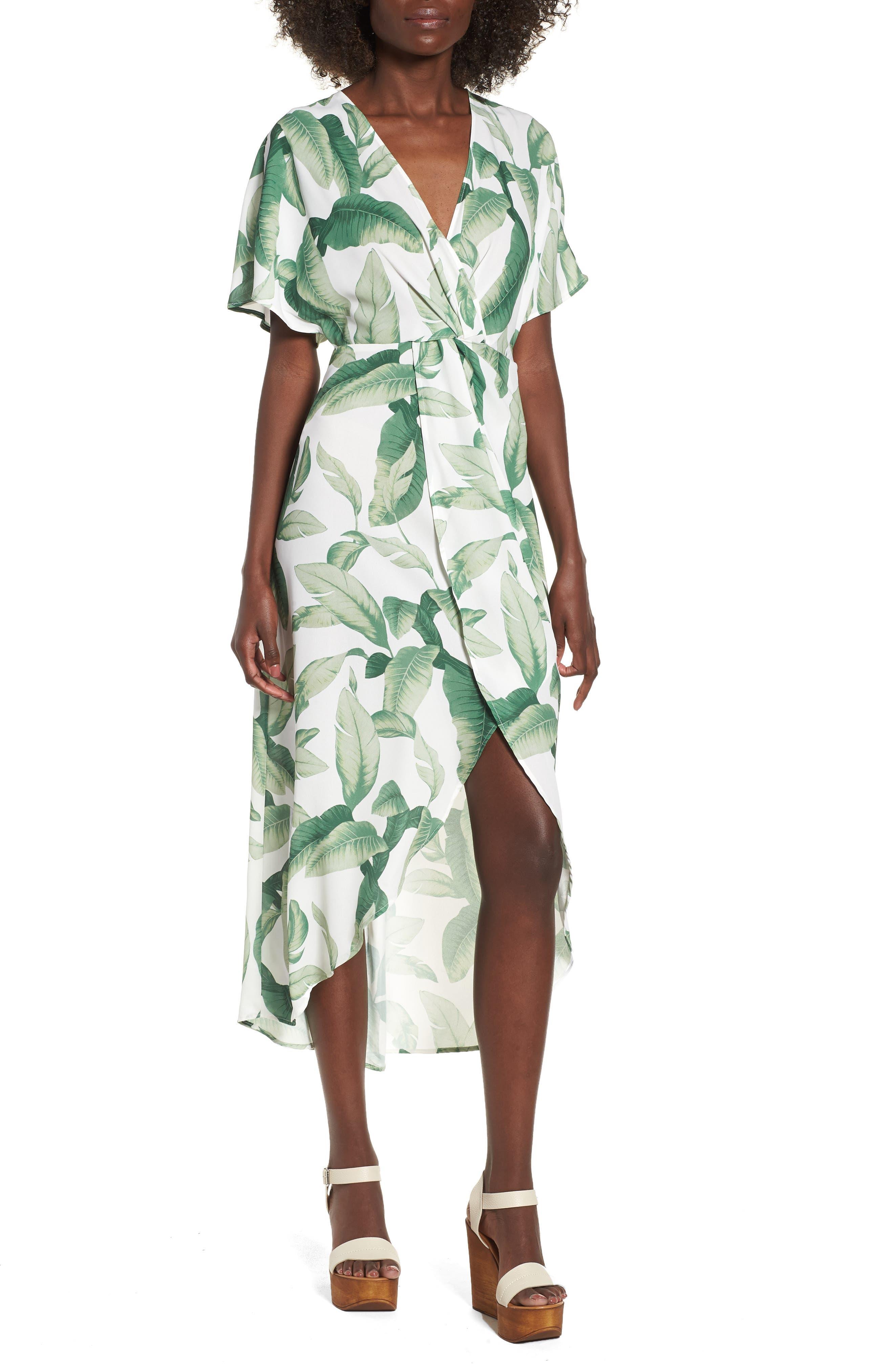 Print Maxi Dress,                         Main,                         color, 300
