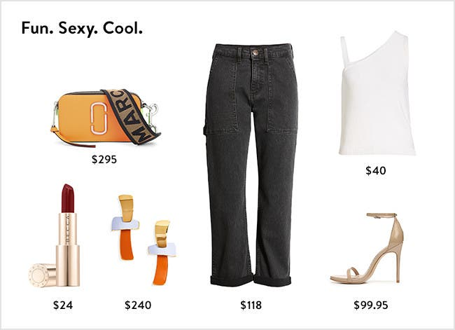 Fun, sexy, cool: women's clothing, shoes, handbags, jewelry and makeup.