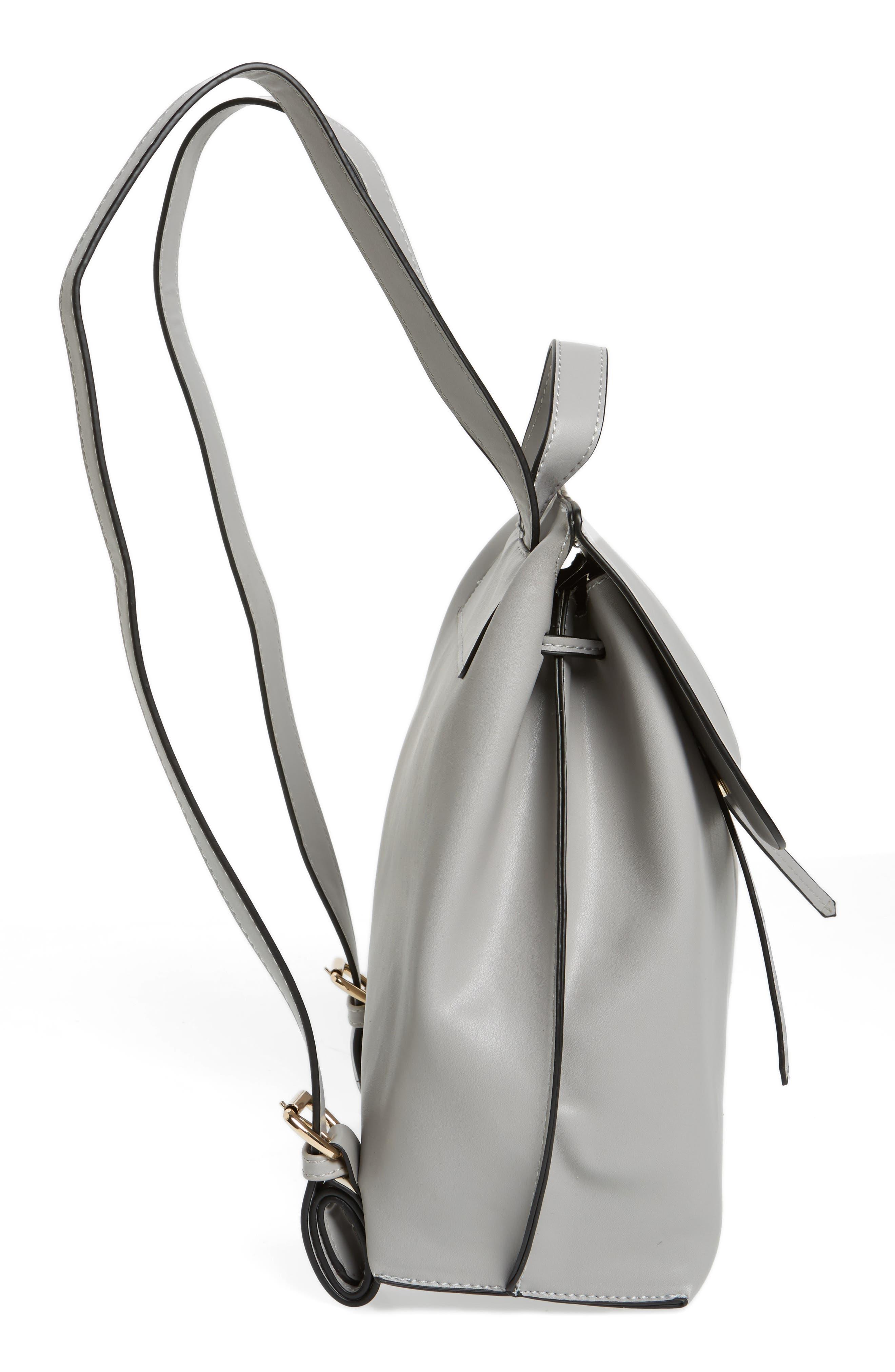 Selena Faux Leather Backpack,                             Alternate thumbnail 23, color,