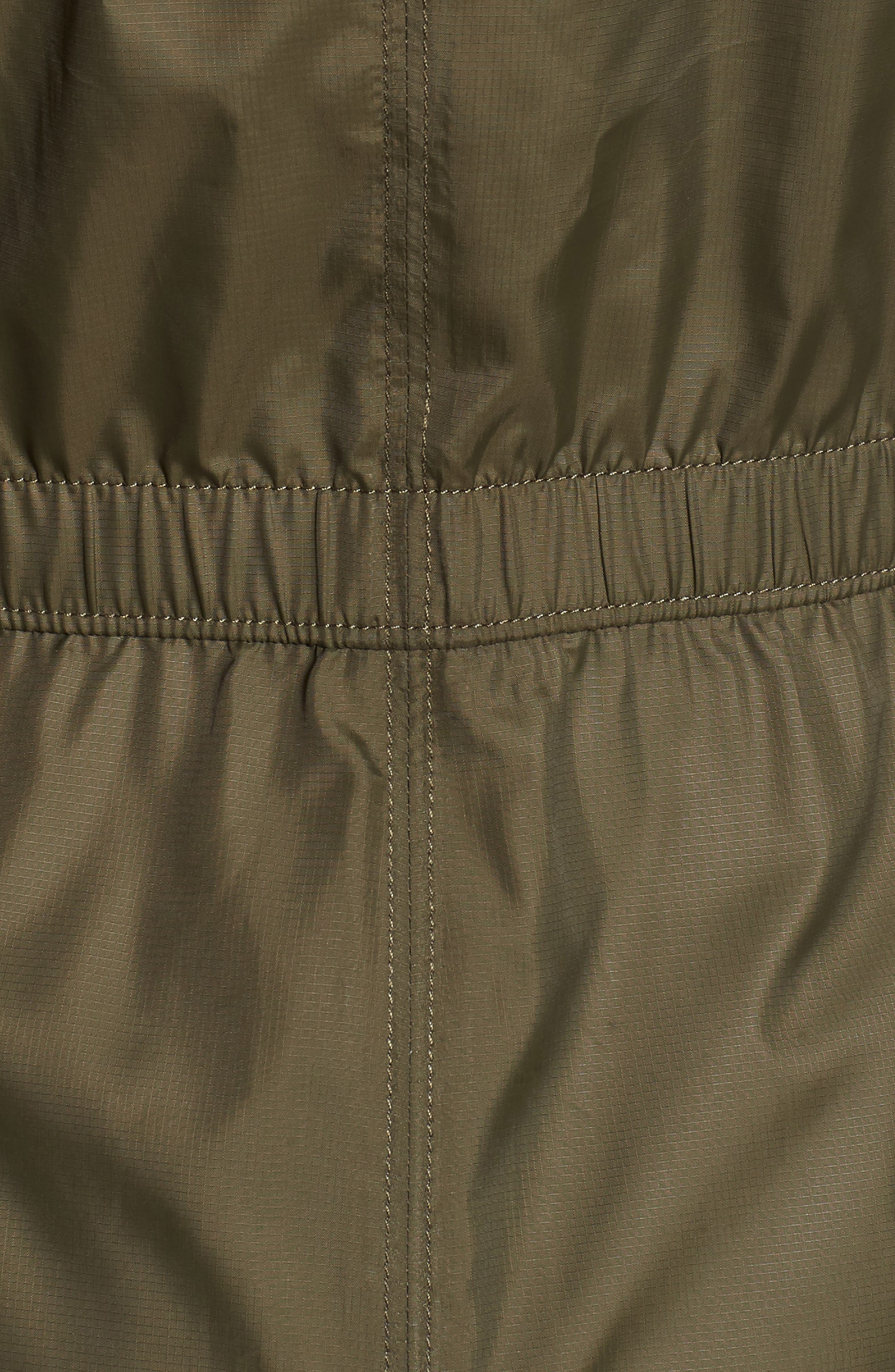 Rissy 2 Wind Resistant Jacket,                             Alternate thumbnail 7, color,                             NEW TAUPE GREEN