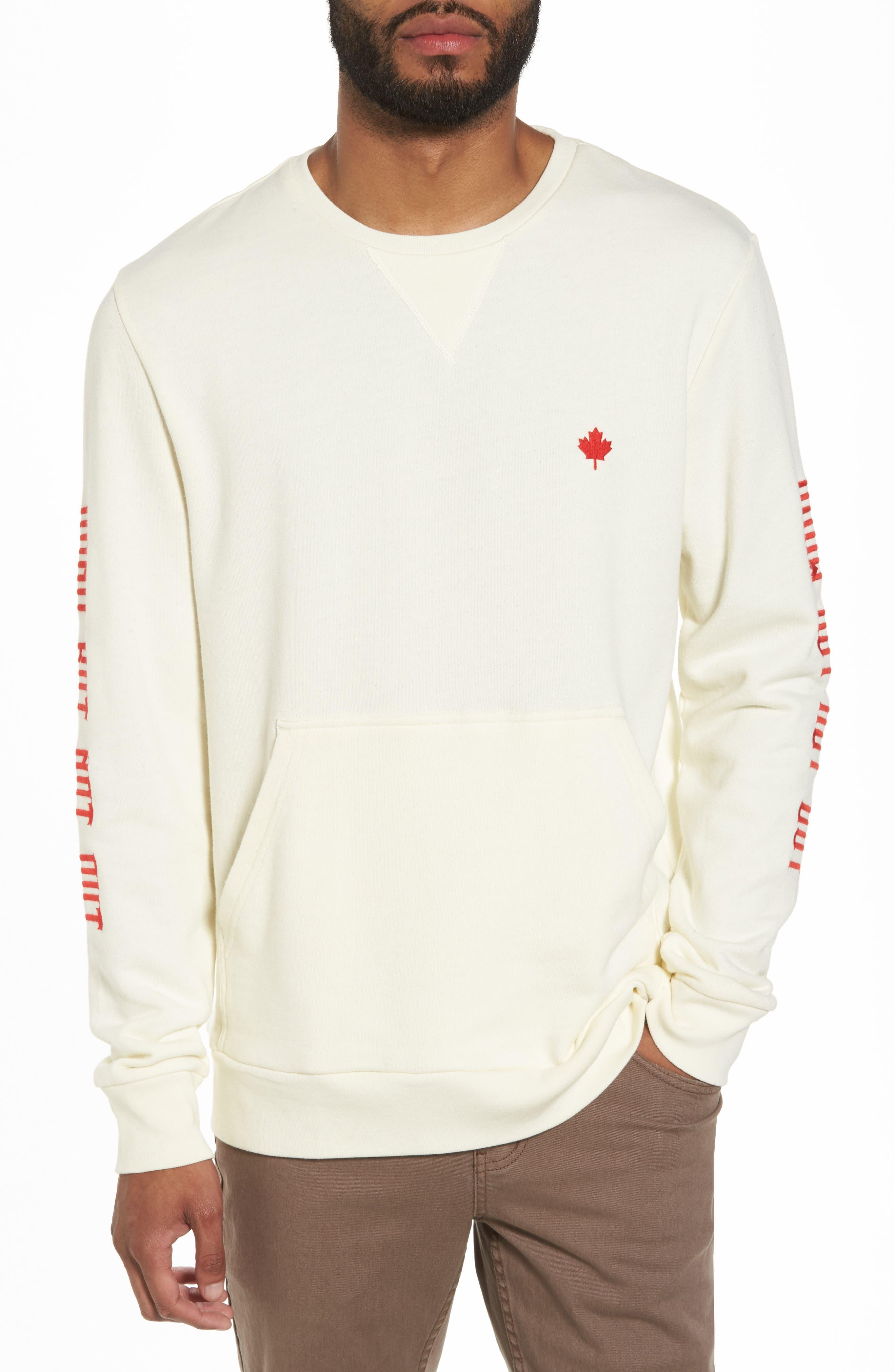 Up North Fleece Sweatshirt,                         Main,                         color,