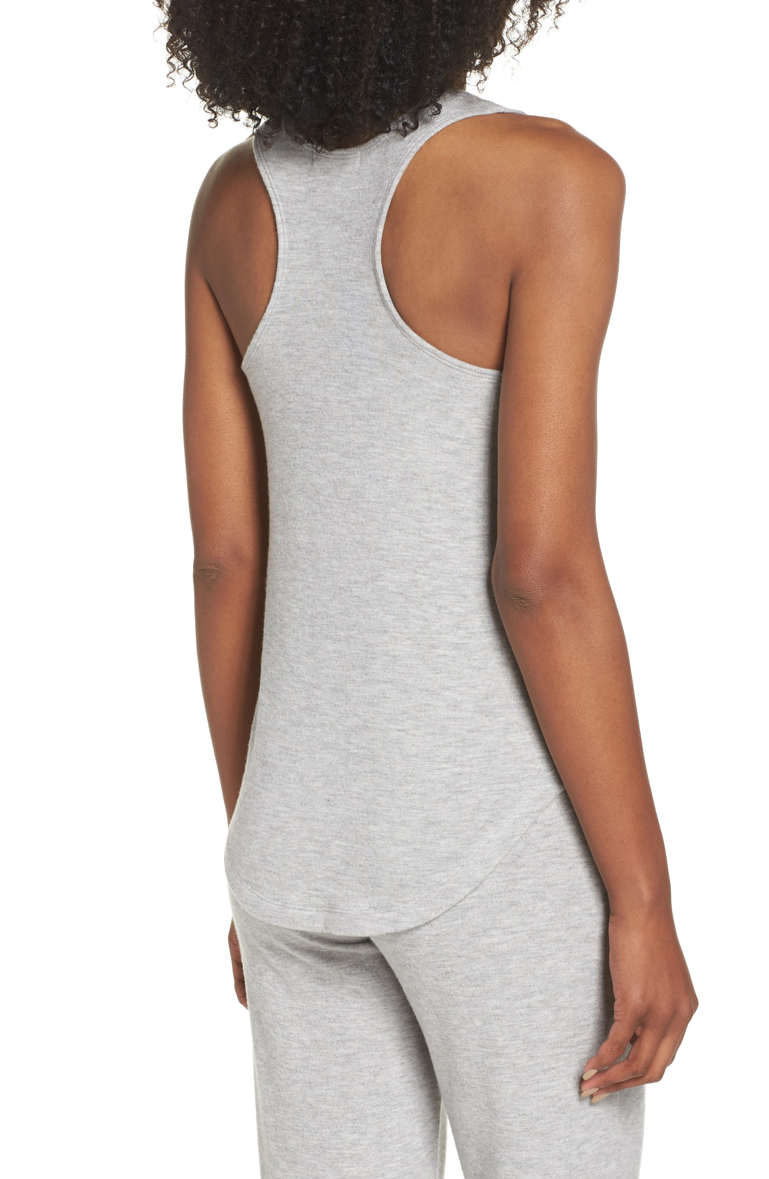 Racerback Tank,                             Alternate thumbnail 2, color,                             H GREY