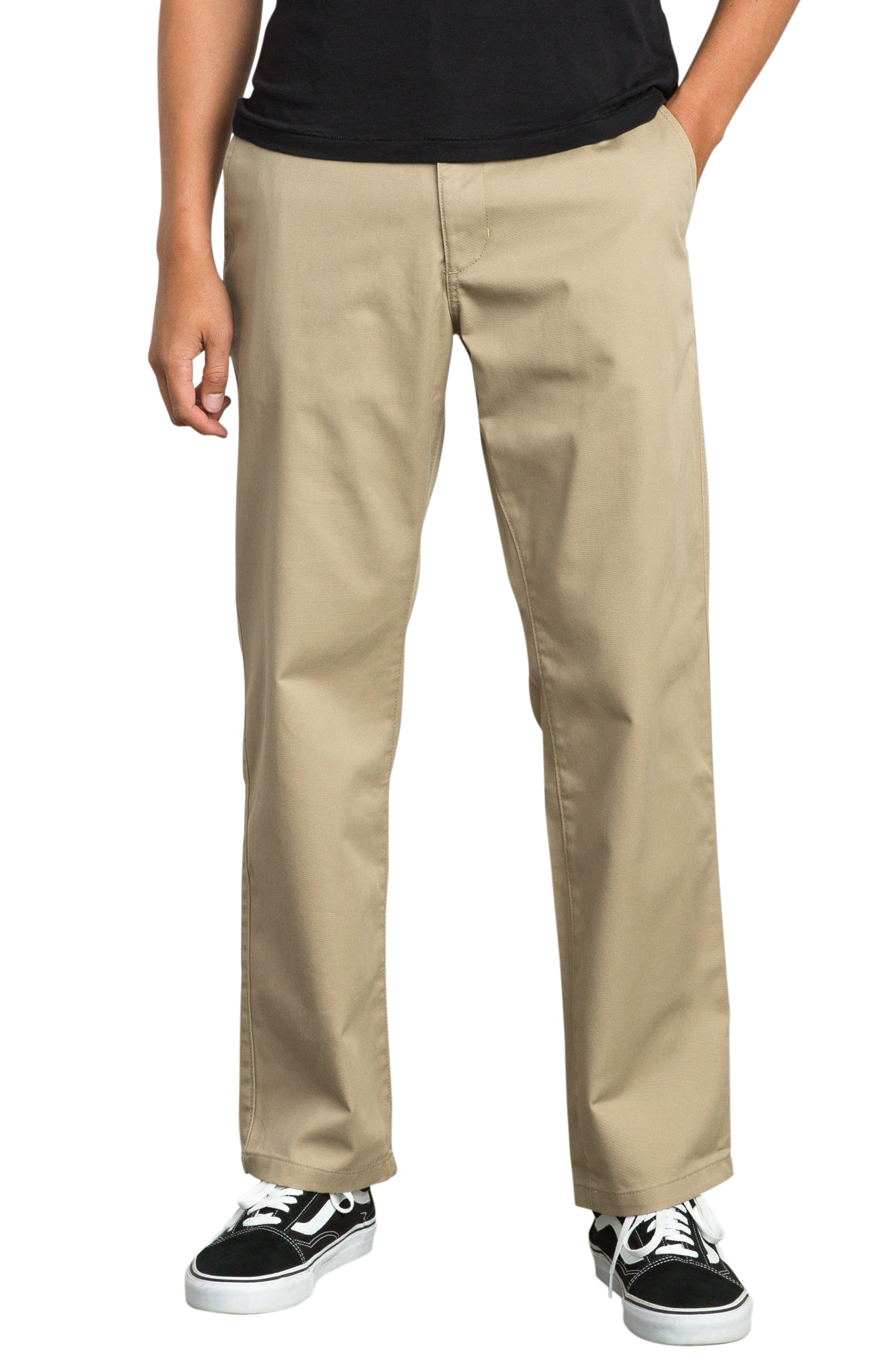 Big Chino Pants,                         Main,                         color, WOOD