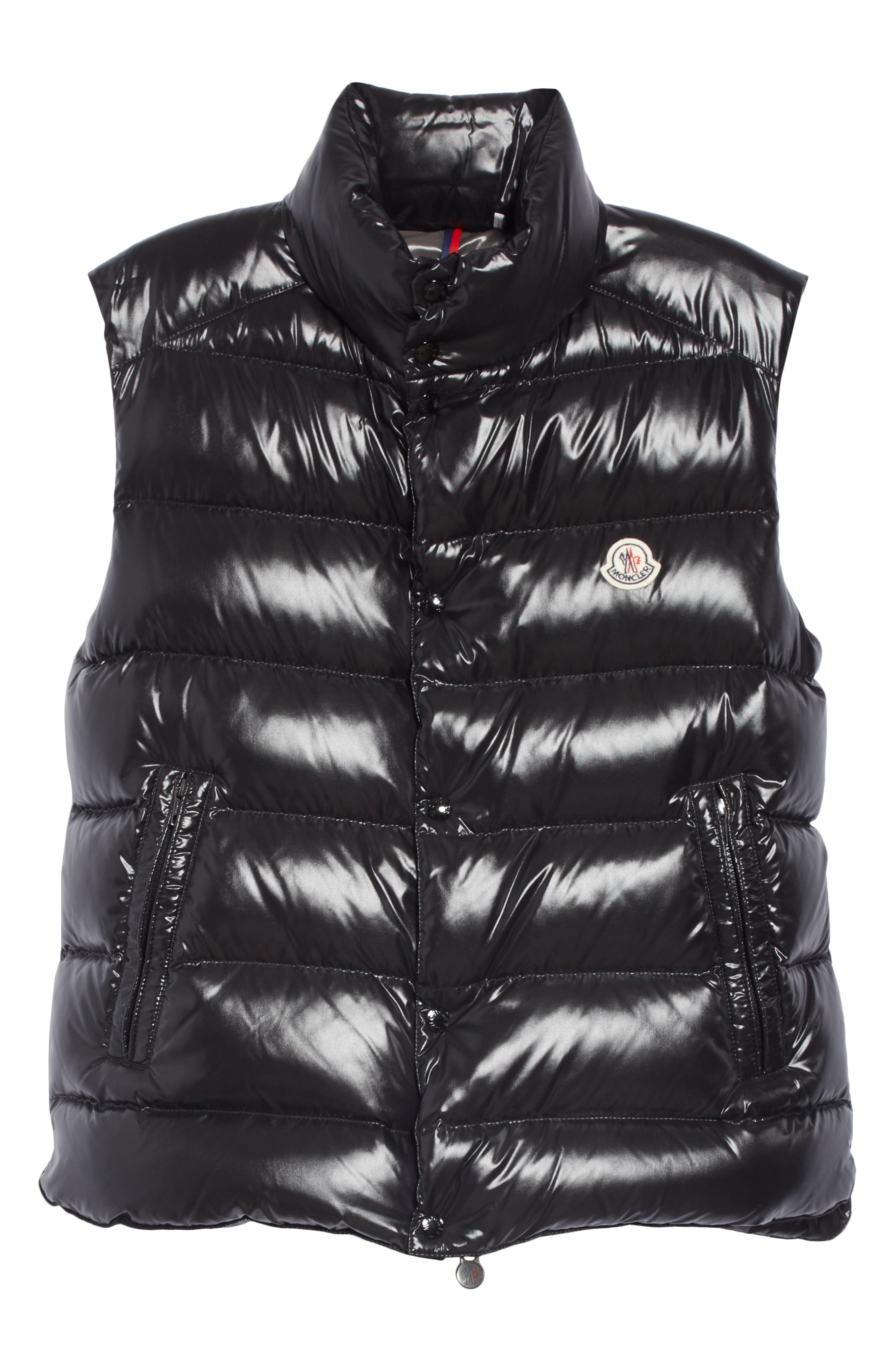 Tib Down Vest,                             Alternate thumbnail 5, color,                             BLACK