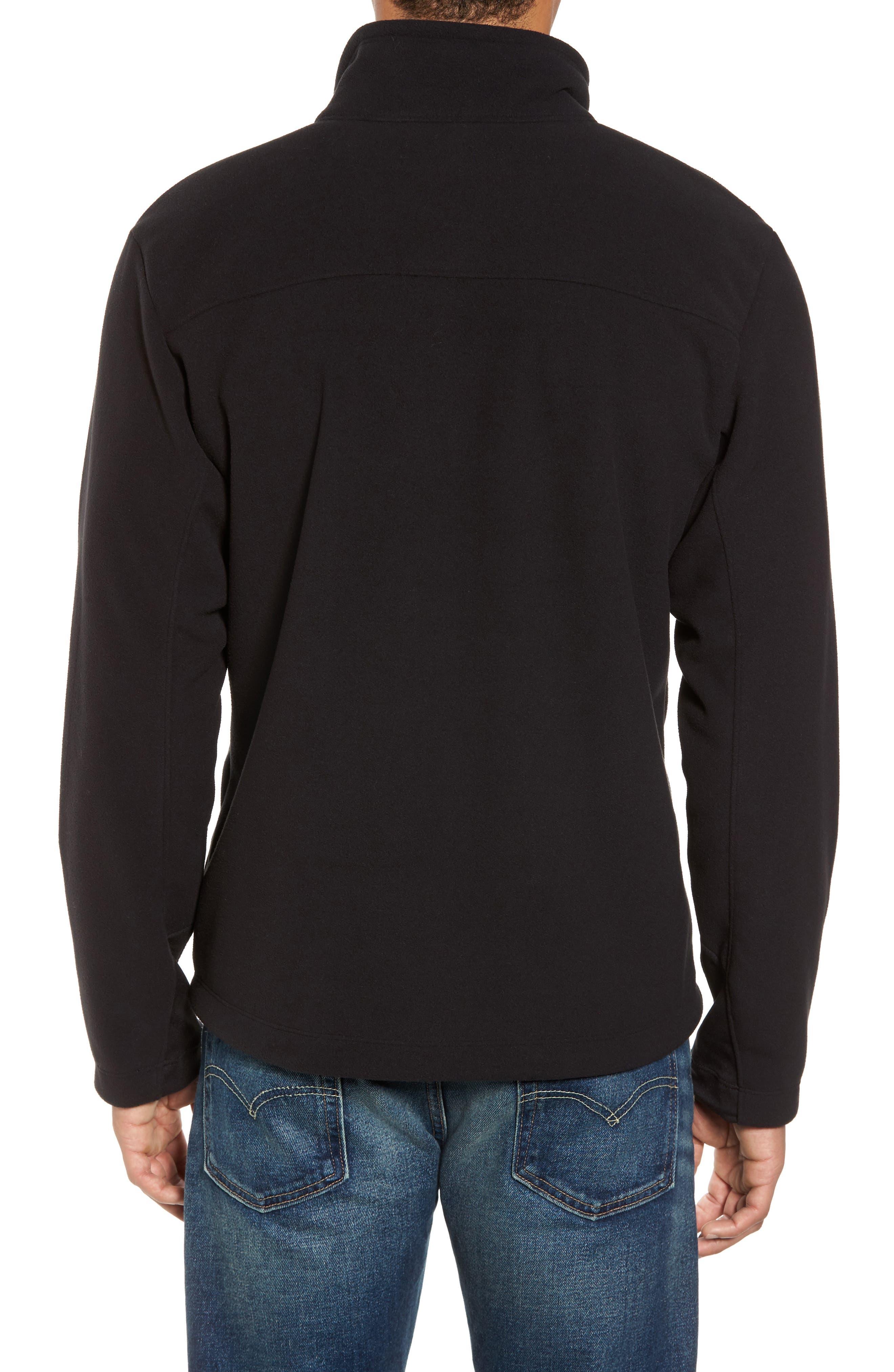 'Chimborazo' Zip Front Fleece Jacket,                             Alternate thumbnail 17, color,