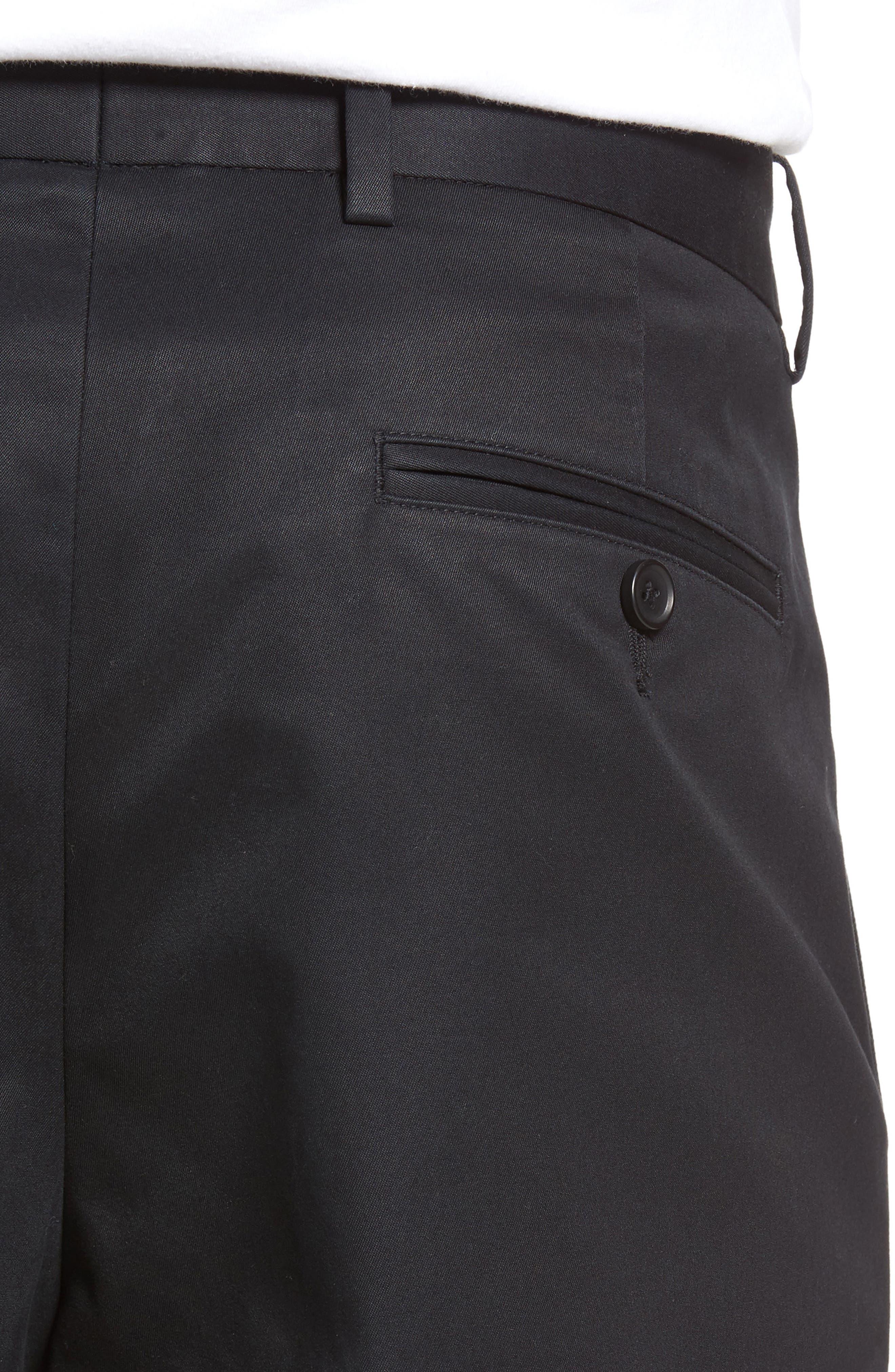 Pleated Supima<sup>®</sup> Cotton Shorts,                             Alternate thumbnail 16, color,