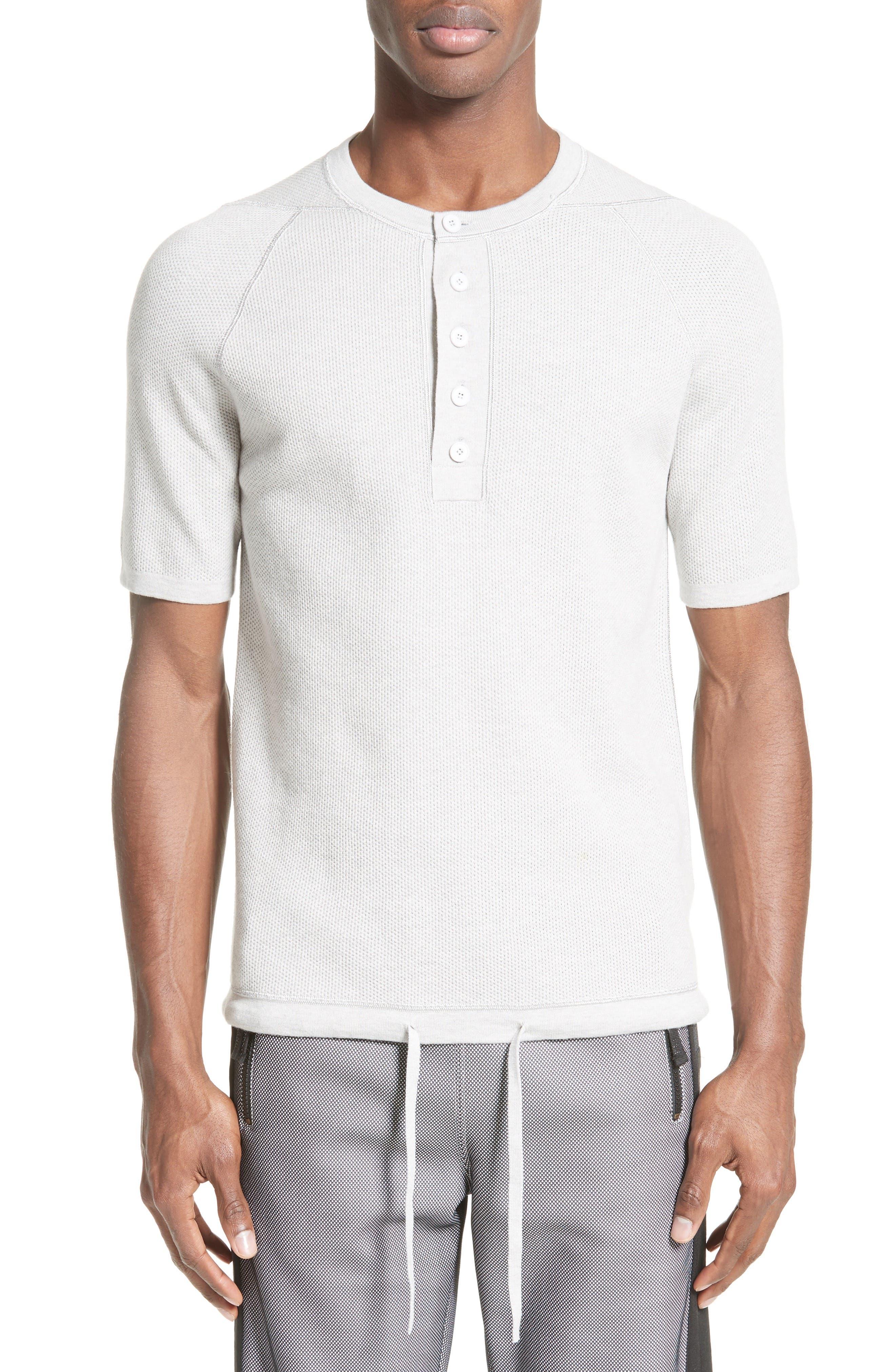 Short Sleeve Henley,                         Main,                         color,