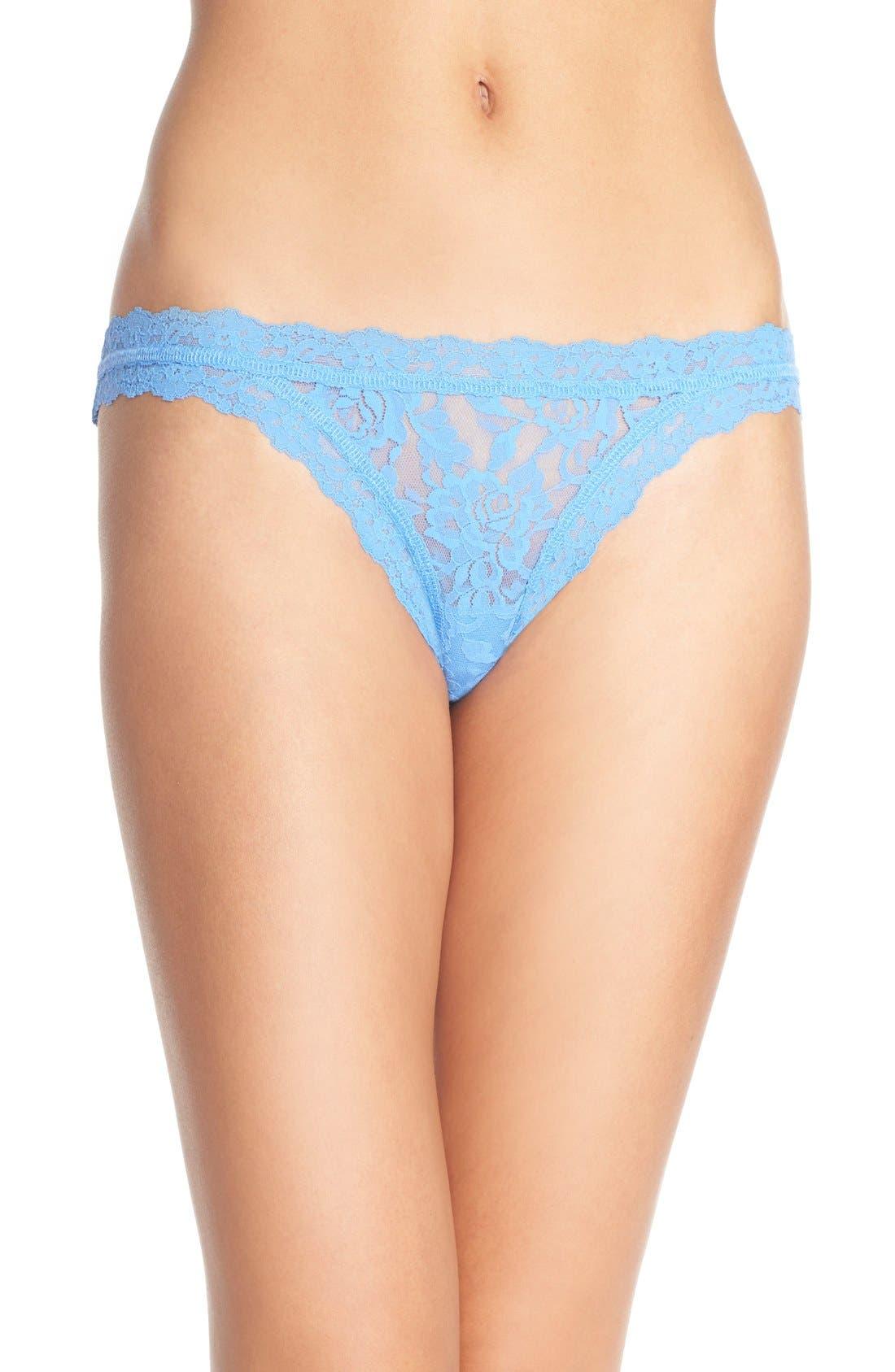 'Signature Lace' Brazilian Bikini,                             Main thumbnail 12, color,