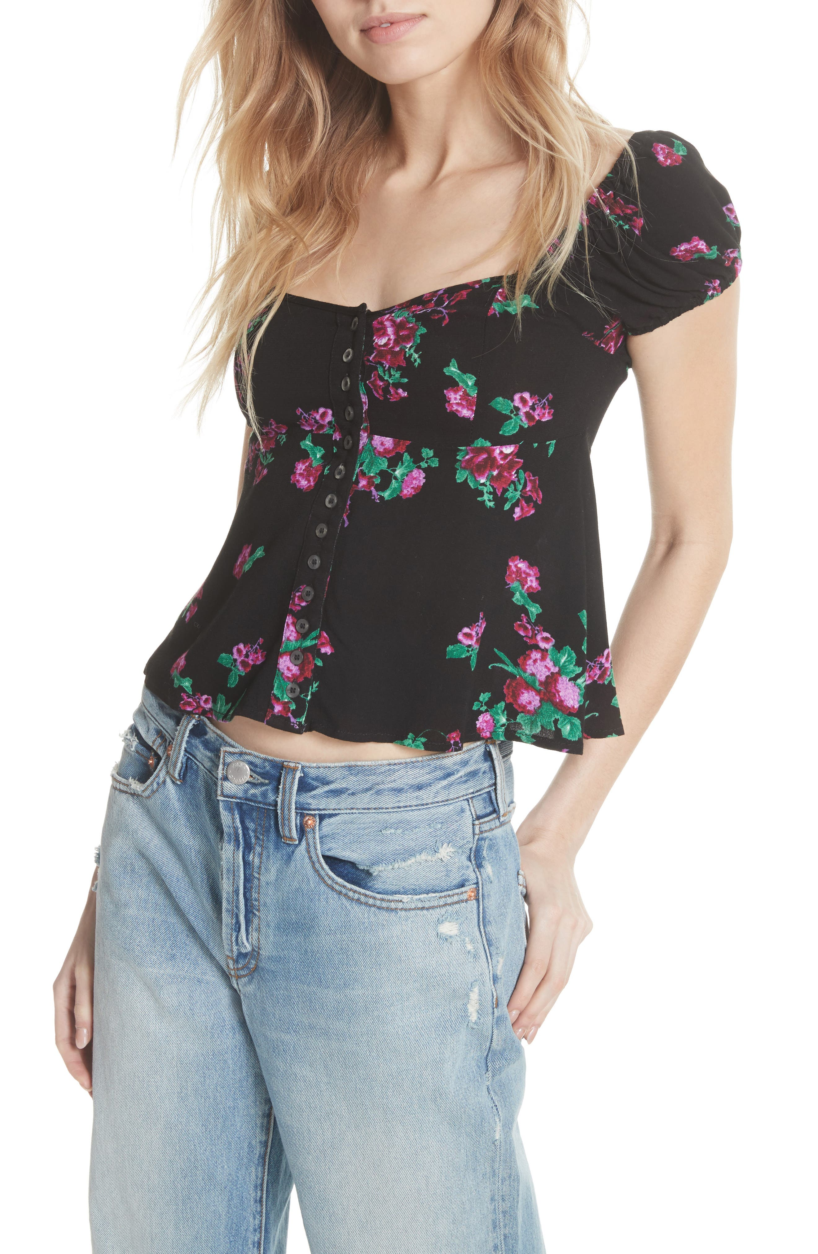 Close to You Floral Blouse,                         Main,                         color,